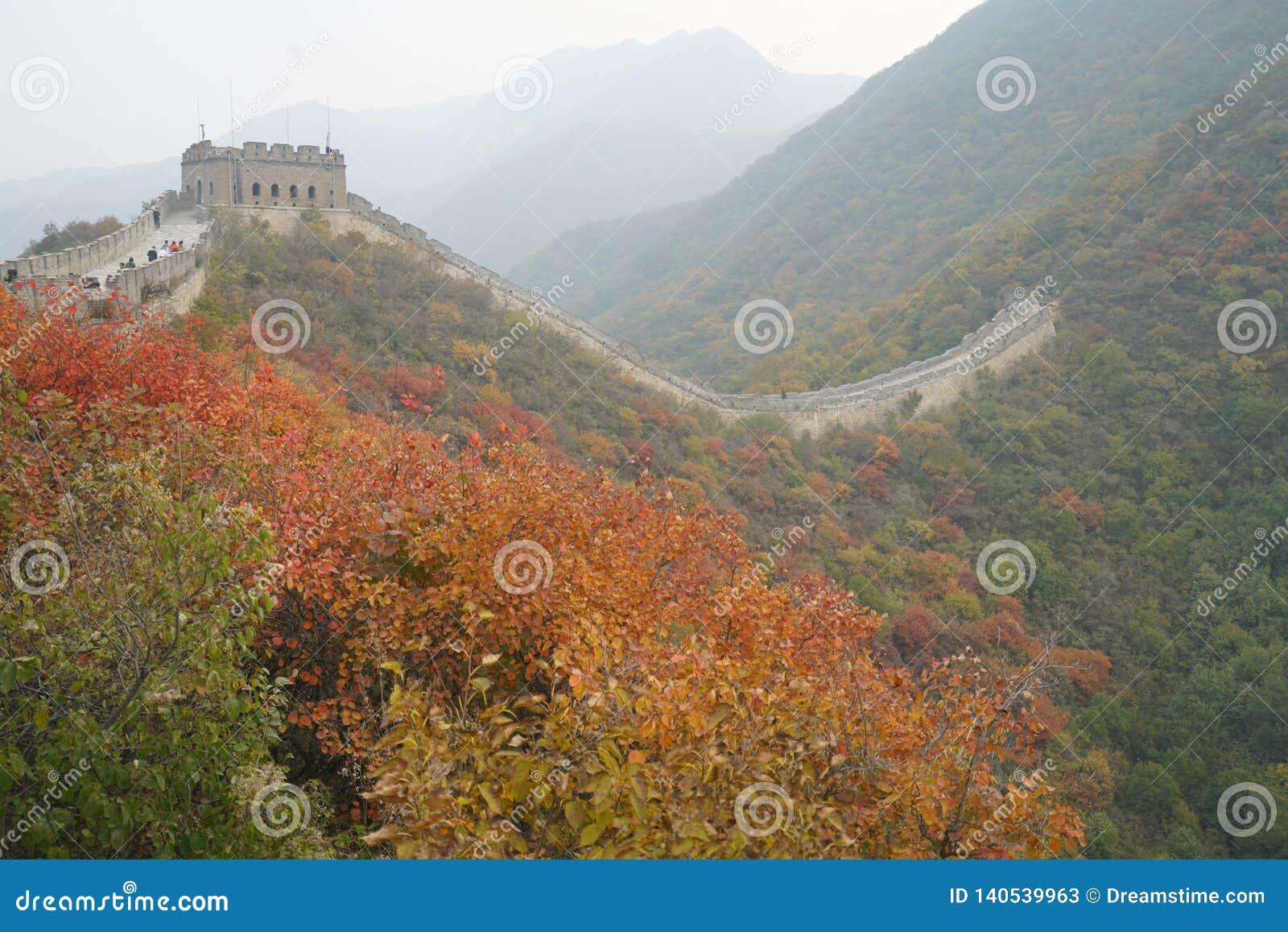 La China del otoño de la Gran Muralla