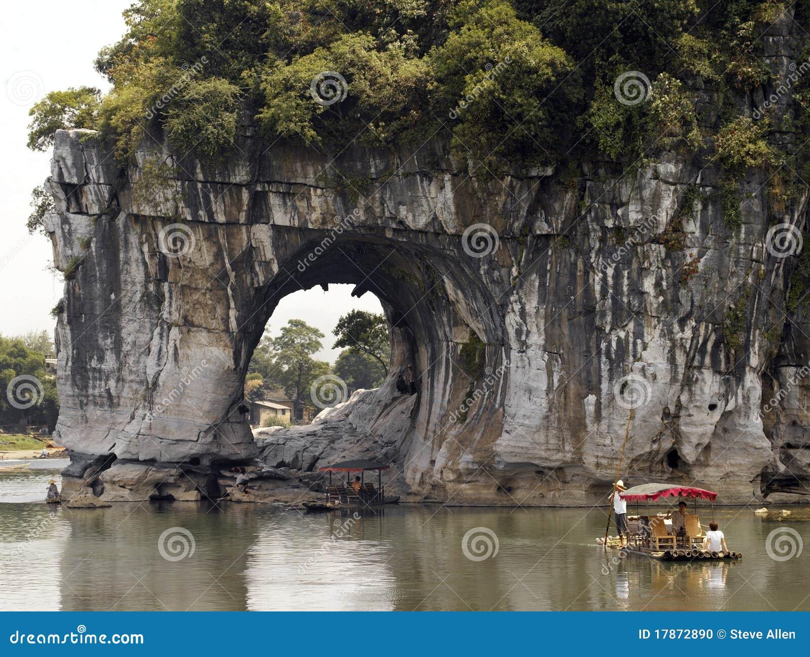 La Chine - côte de joncteur réseau d éléphant