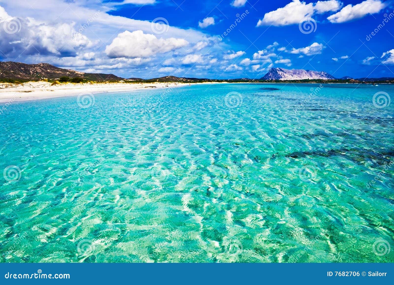 La Cinta Beach in Italy