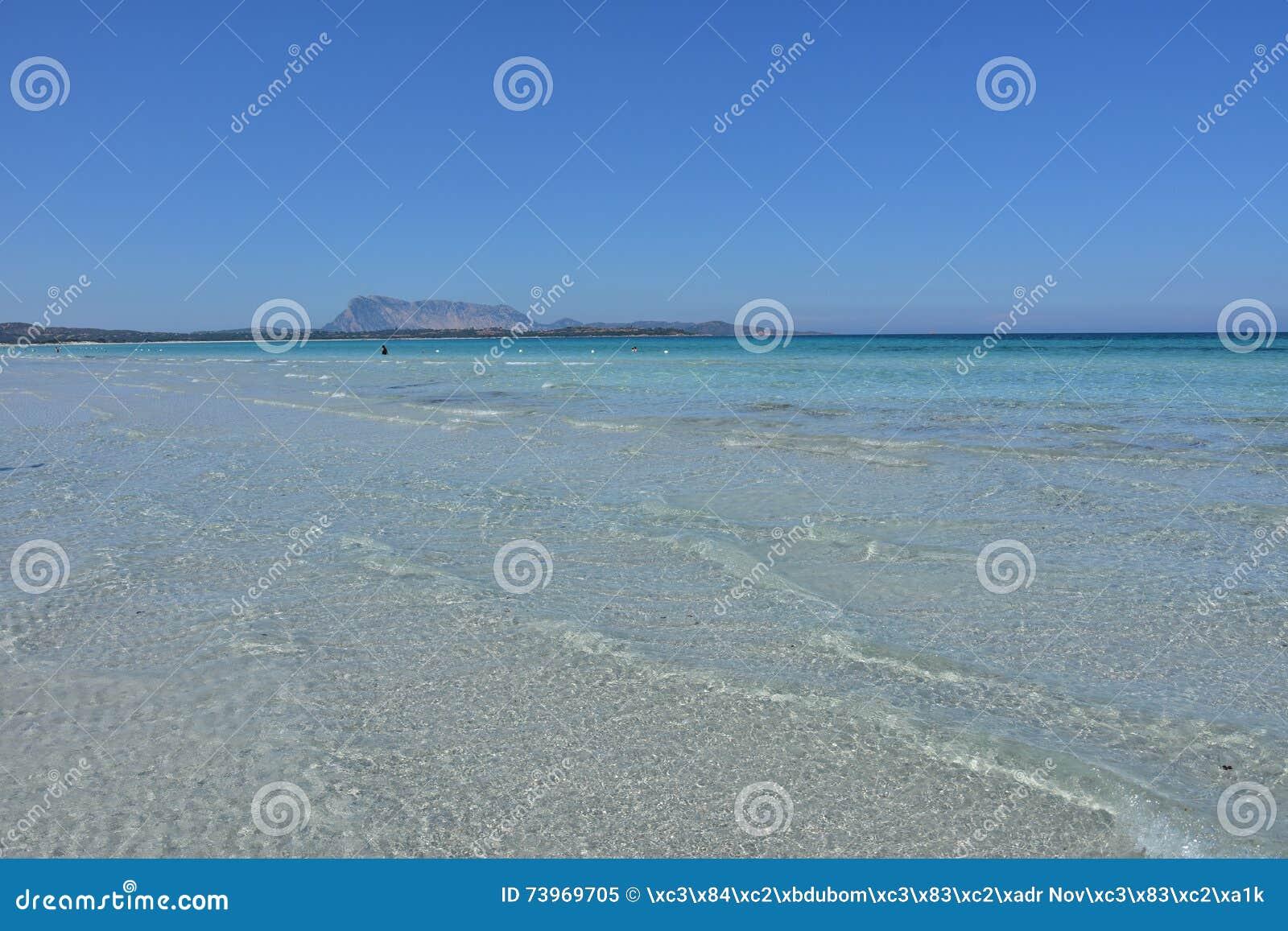La Cinta beach in San Teodoro, Sardinia