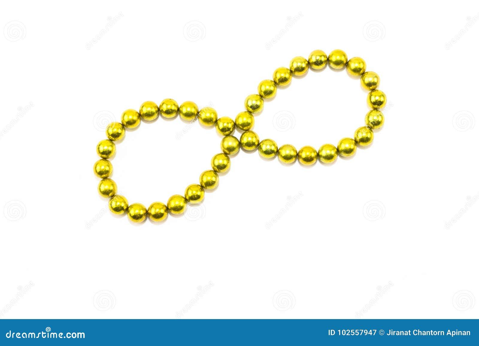 La circulaire jaune arrangent dans l infini sur un contexte blanc