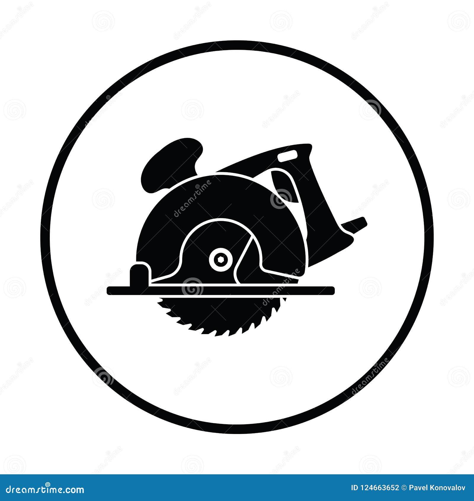La circular vio el icono