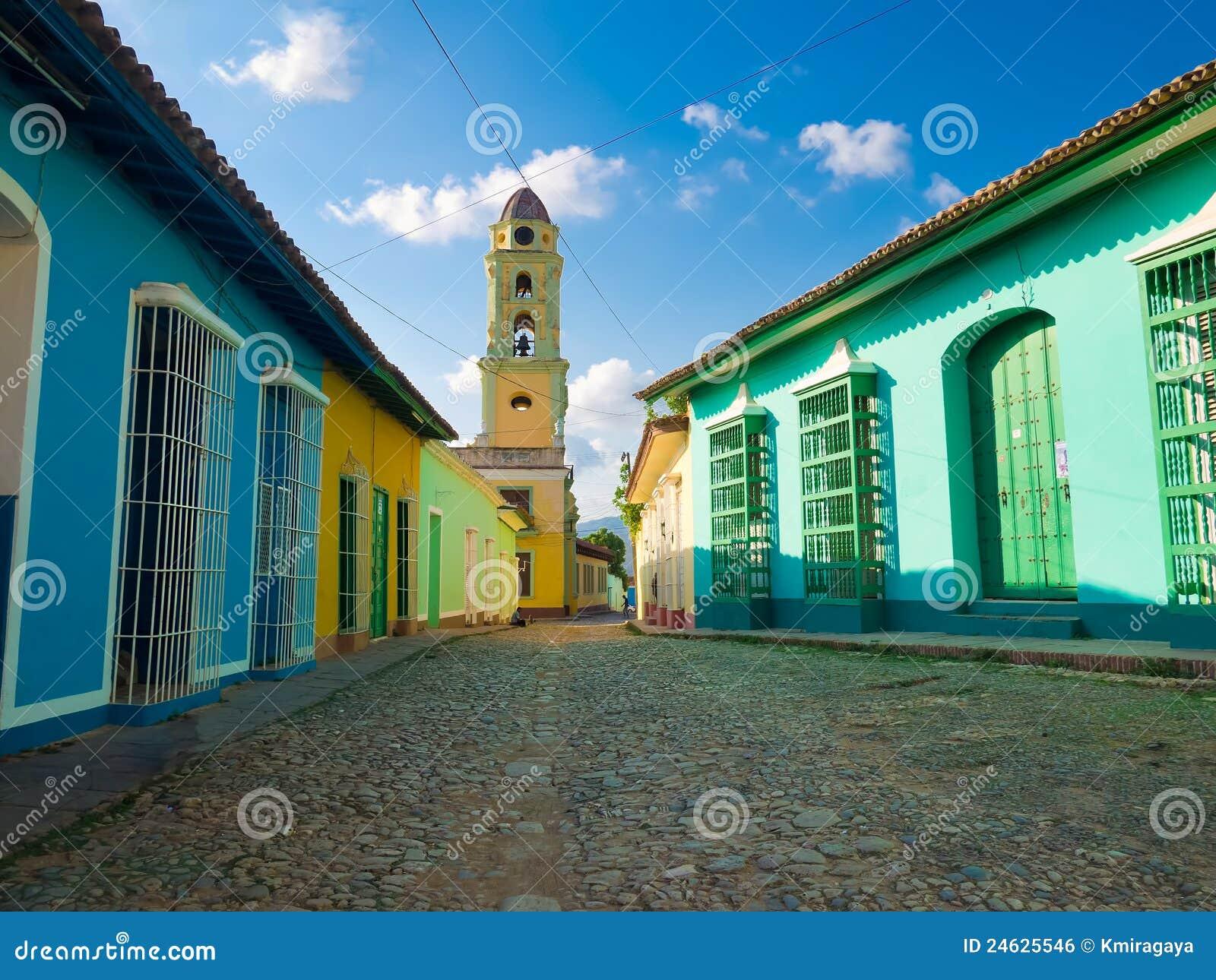 La città coloniale della Trinidad in Cuba