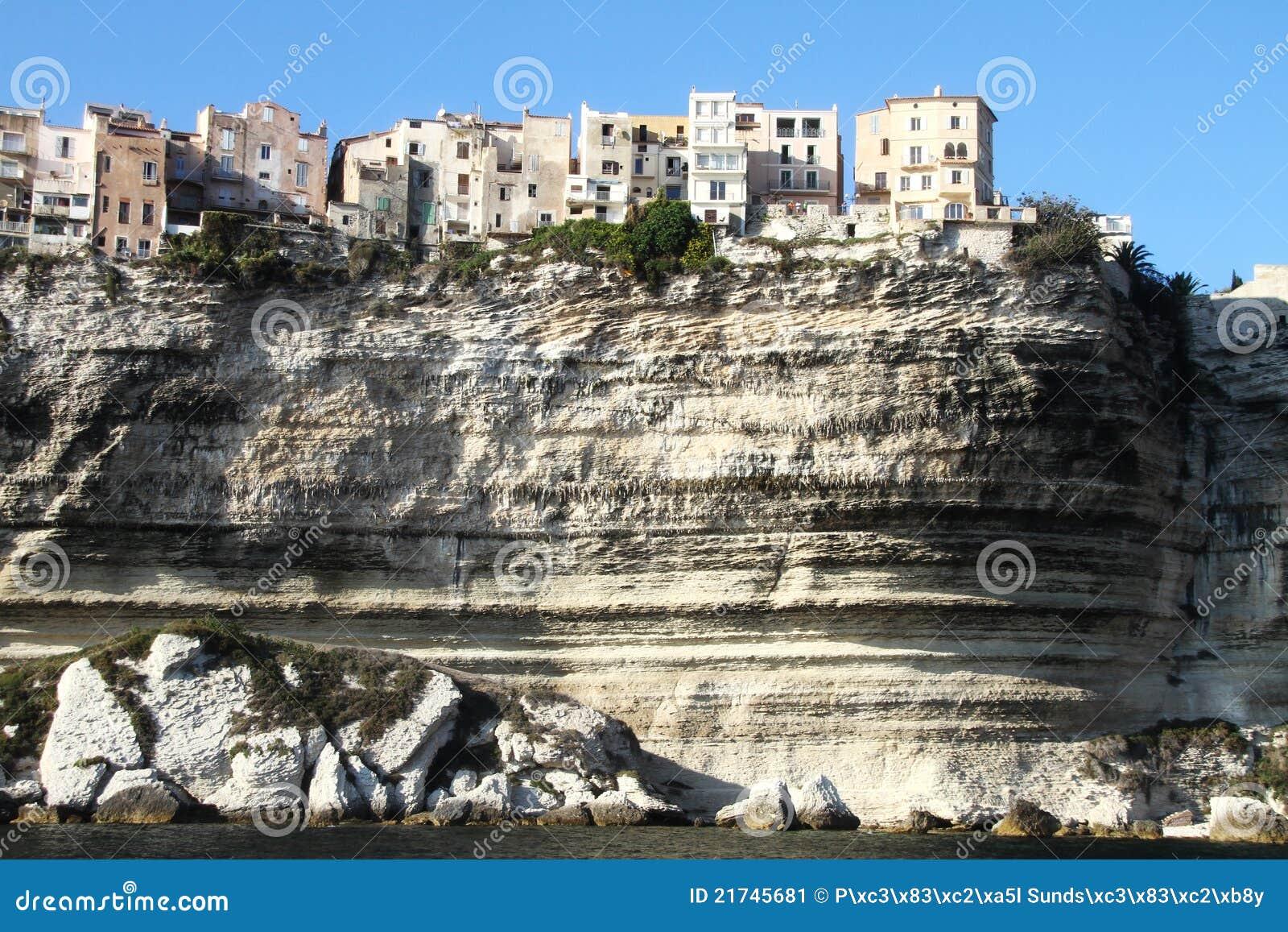 La citt della scogliera bonifacio for Piscine falaise