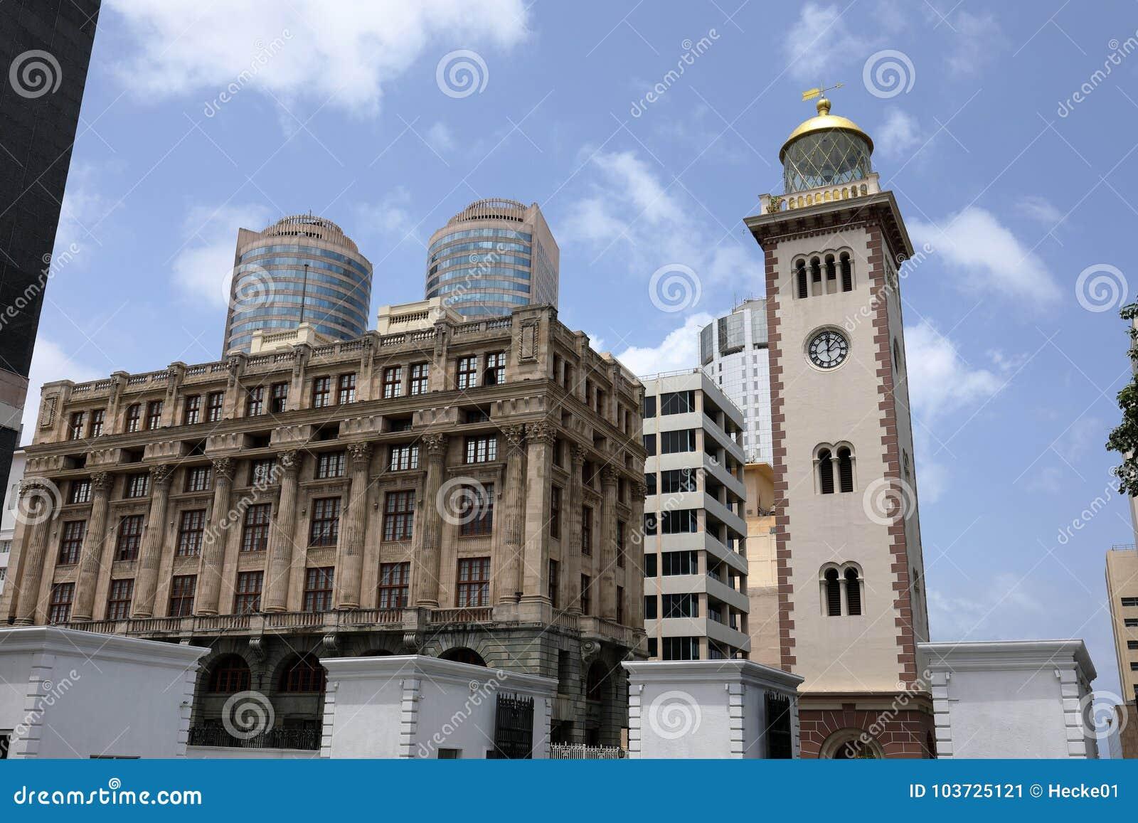 La città di Colombo nello Sri Lanka