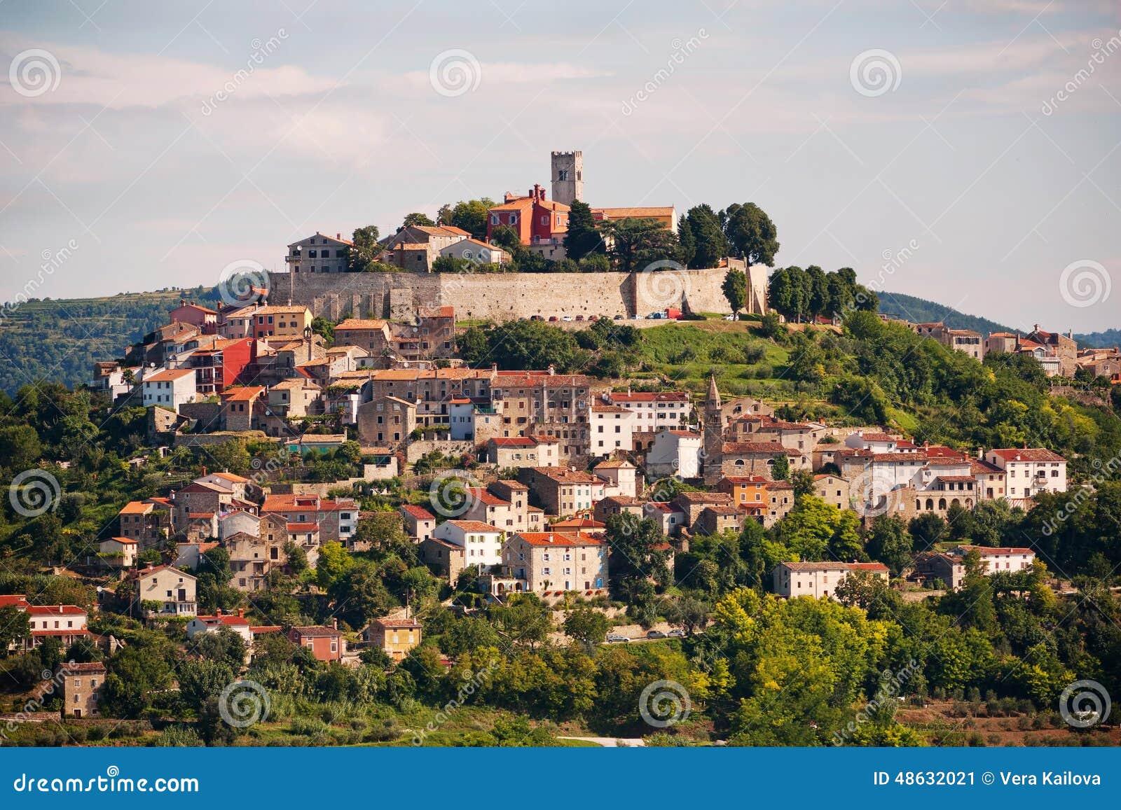 La città Motovun