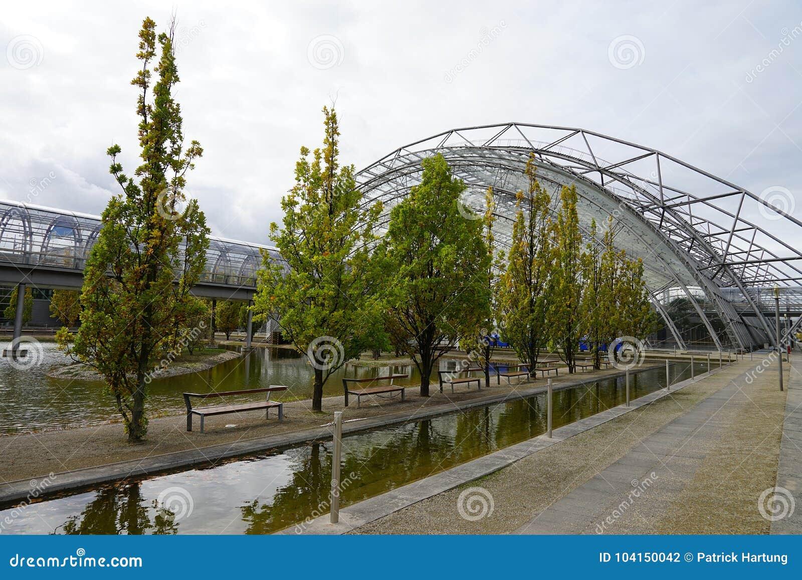 La città Stadt Lipsia Germania Deutschland di Messe della fiera campionaria