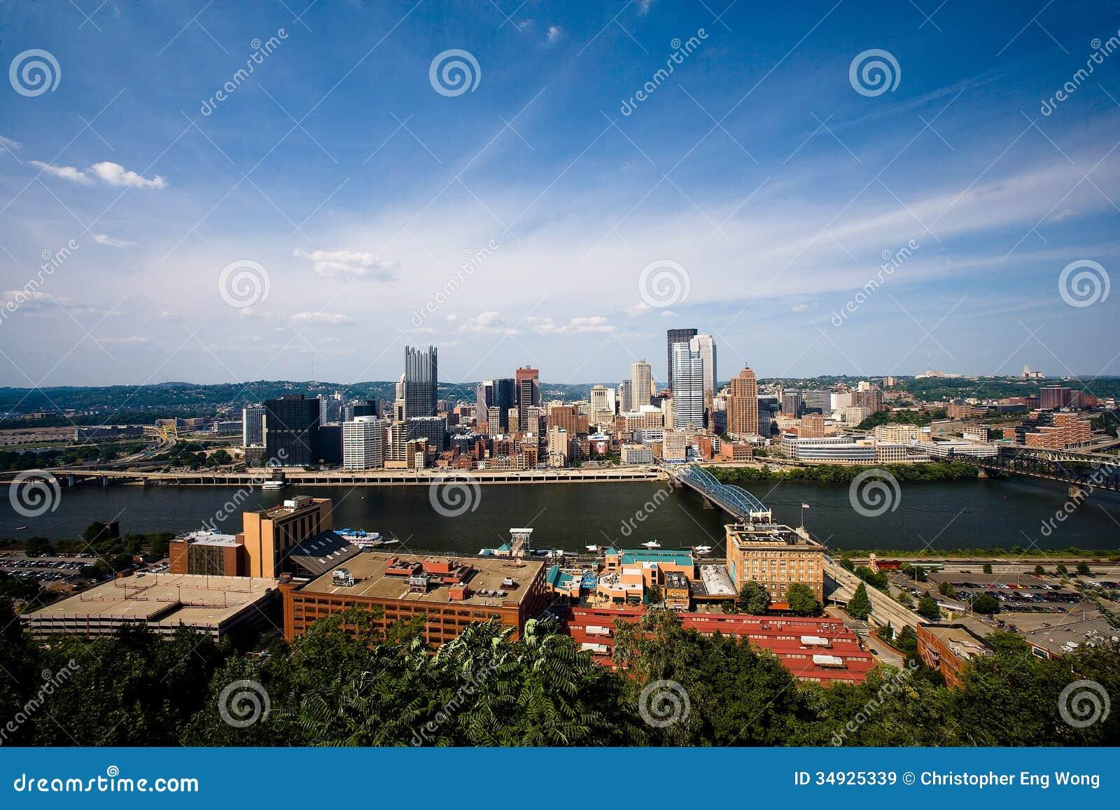 La ciudad de Pittsburgh