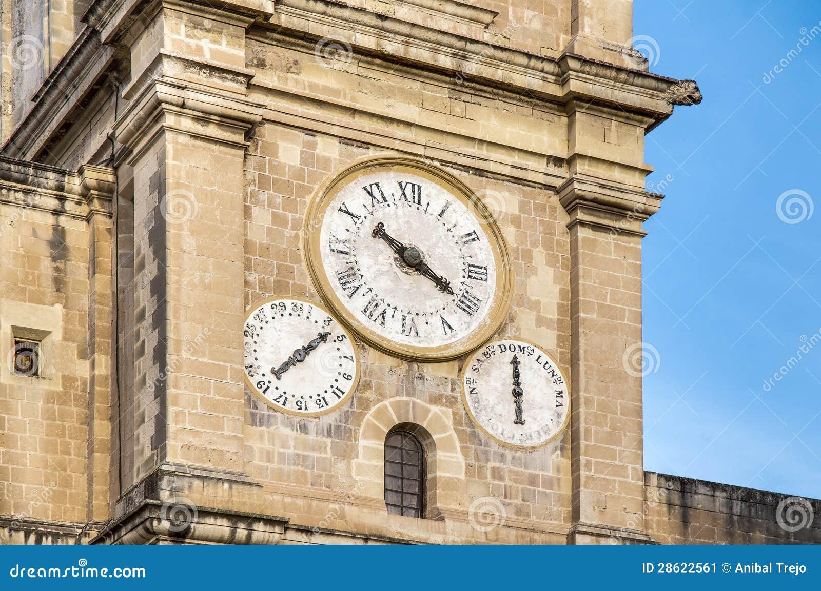 La Co-Cathédrale de St John à La Valette, Malte