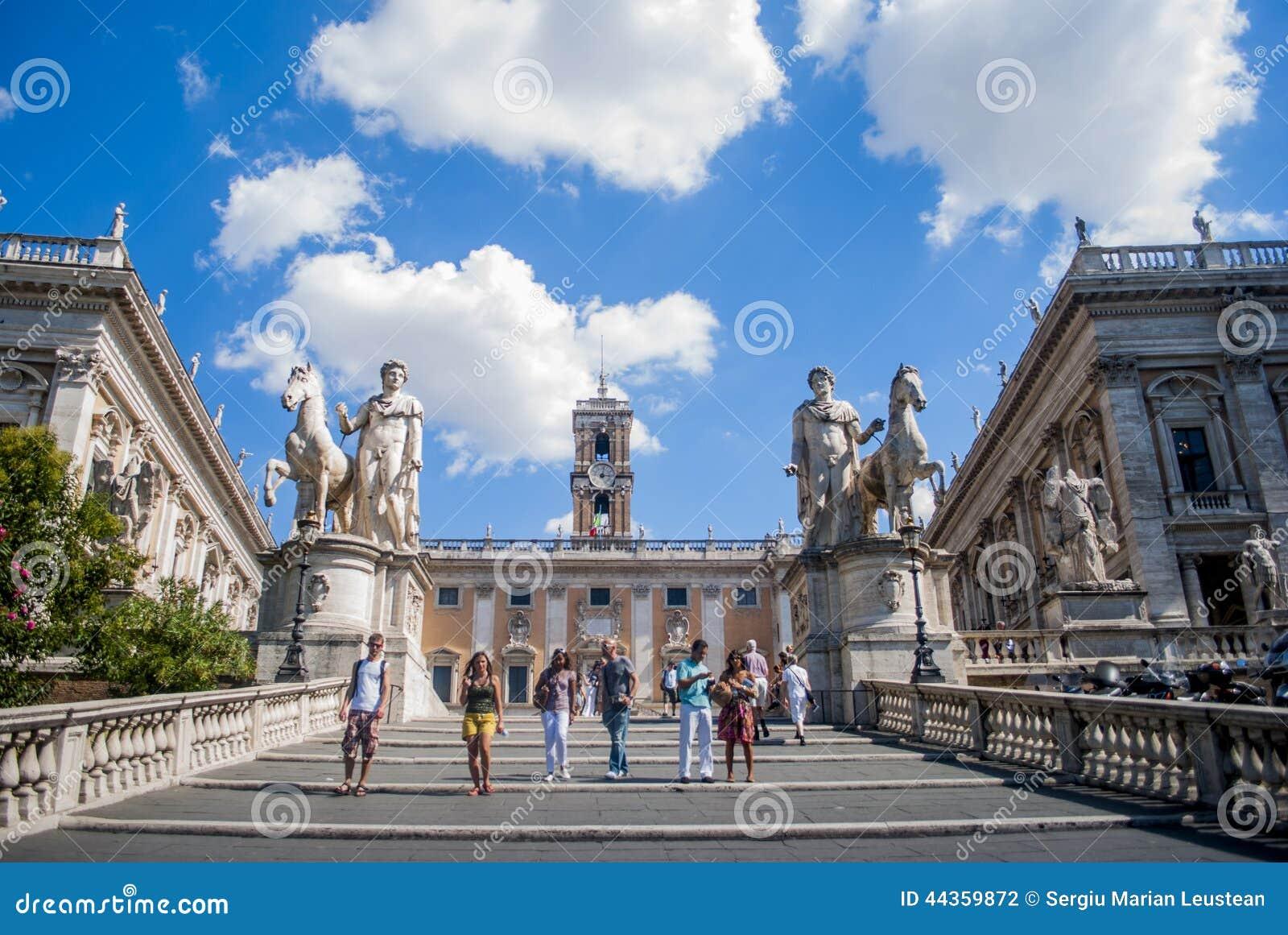 La collina di Capitoline roma L Italia