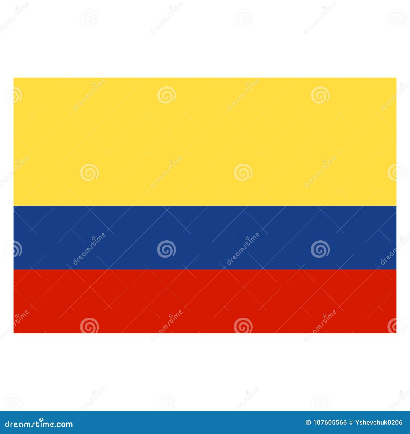 La Colombia del cittadino Illustrazione di vettore