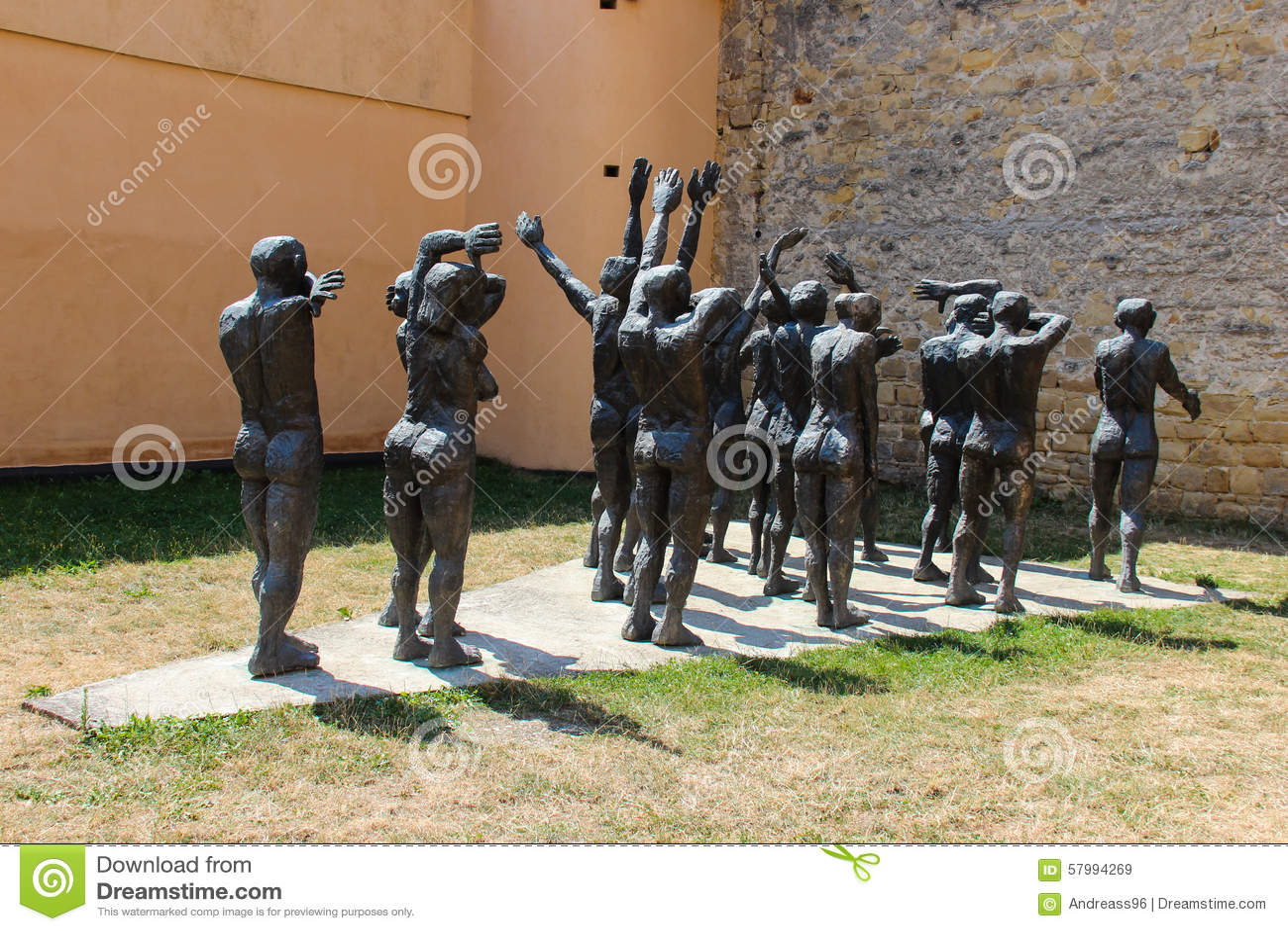 La comitiva de las víctimas sacrificatorias, Sighet - Cortegiul Sacrificatilor, Sighet
