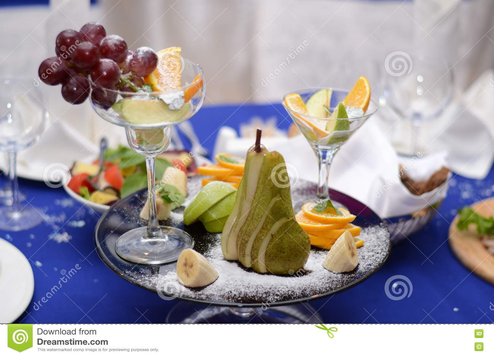 La composición de frutas