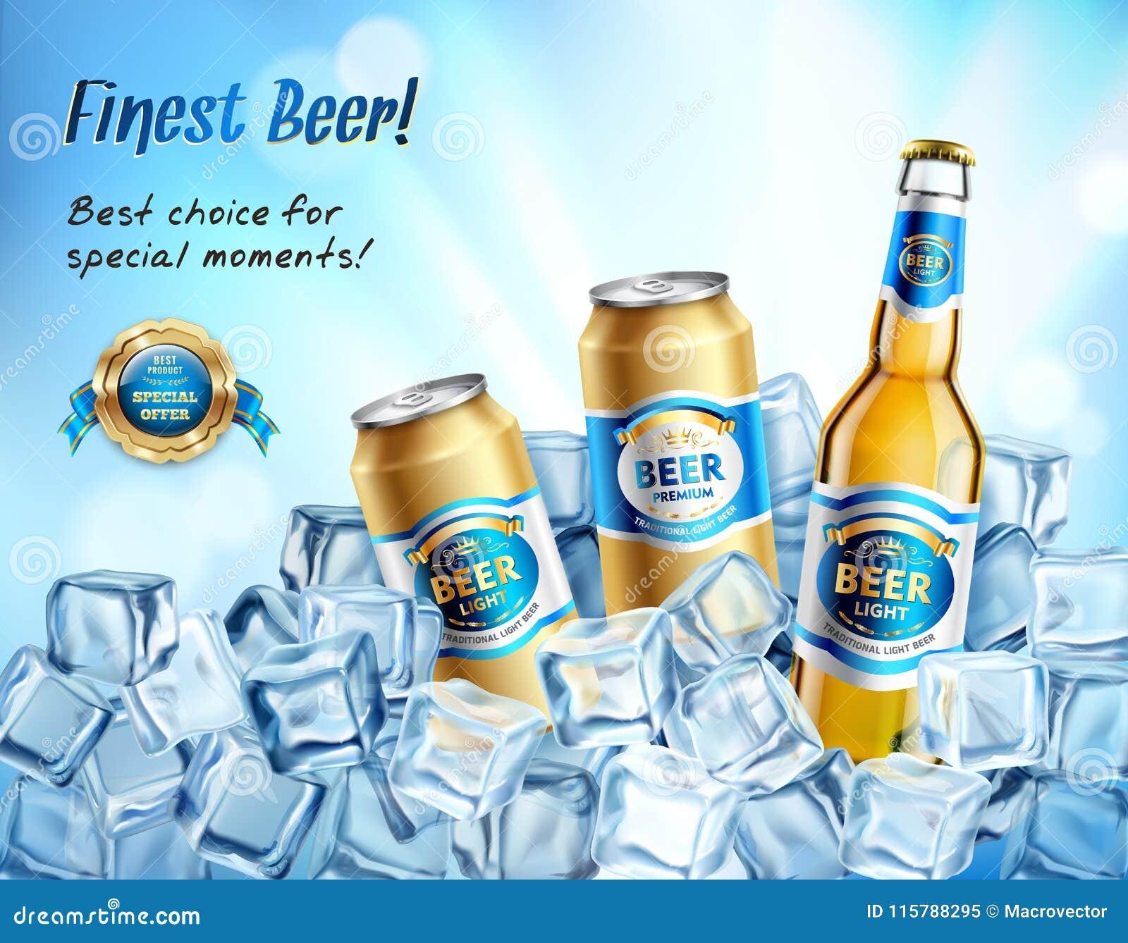 La composition en bière la plus fine