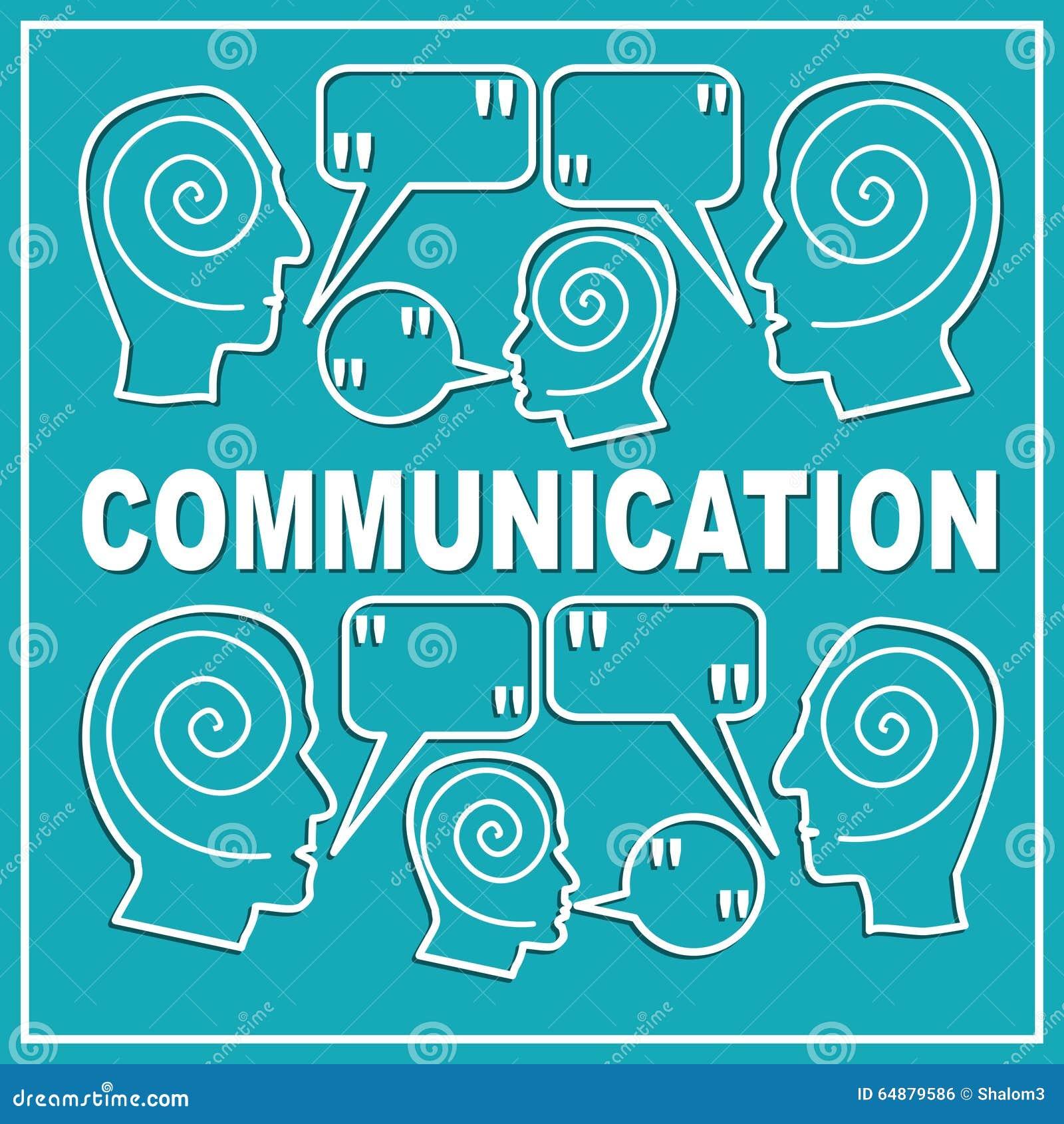 La Comunicación, Plantilla De La Diapositiva De La Presentación ...