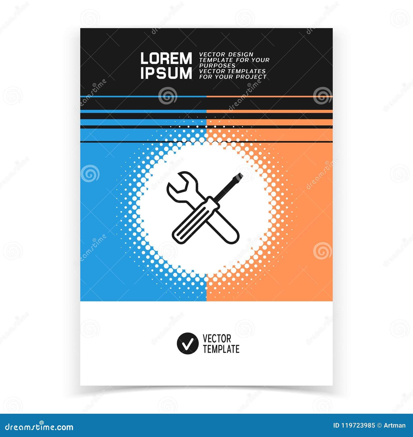 La Conception De Bannière De Brochure Ou De Web Avec Le Service