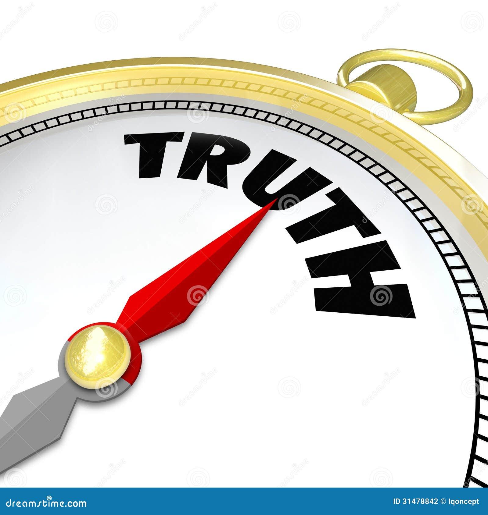 La conciencia del compás de la palabra de la verdad lleva a la sinceridad de la honradez