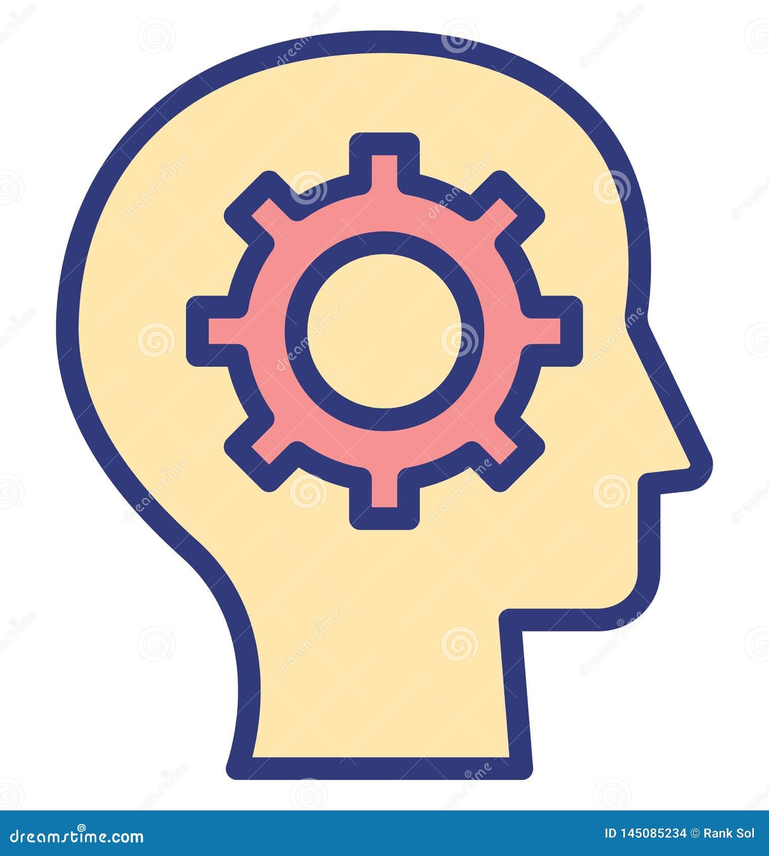 La confusión del documento aisló el icono del vector que puede modificarse o corregir fácilmente