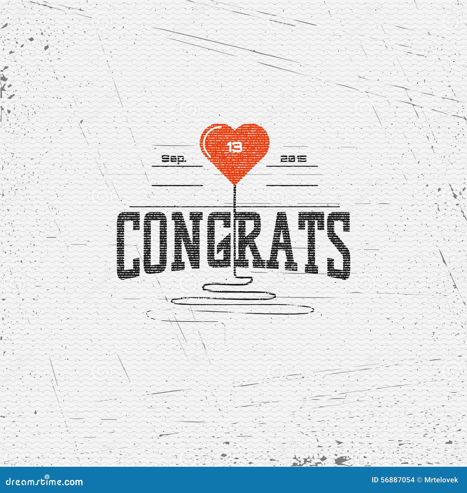 La congratulazione badges le carte e le etichette per c è ne uso