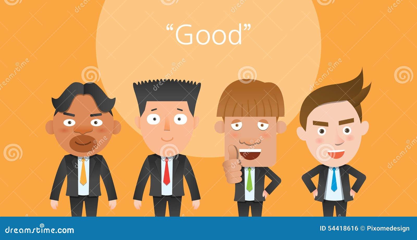 La corporación buena sirve el carácter plano del concepto