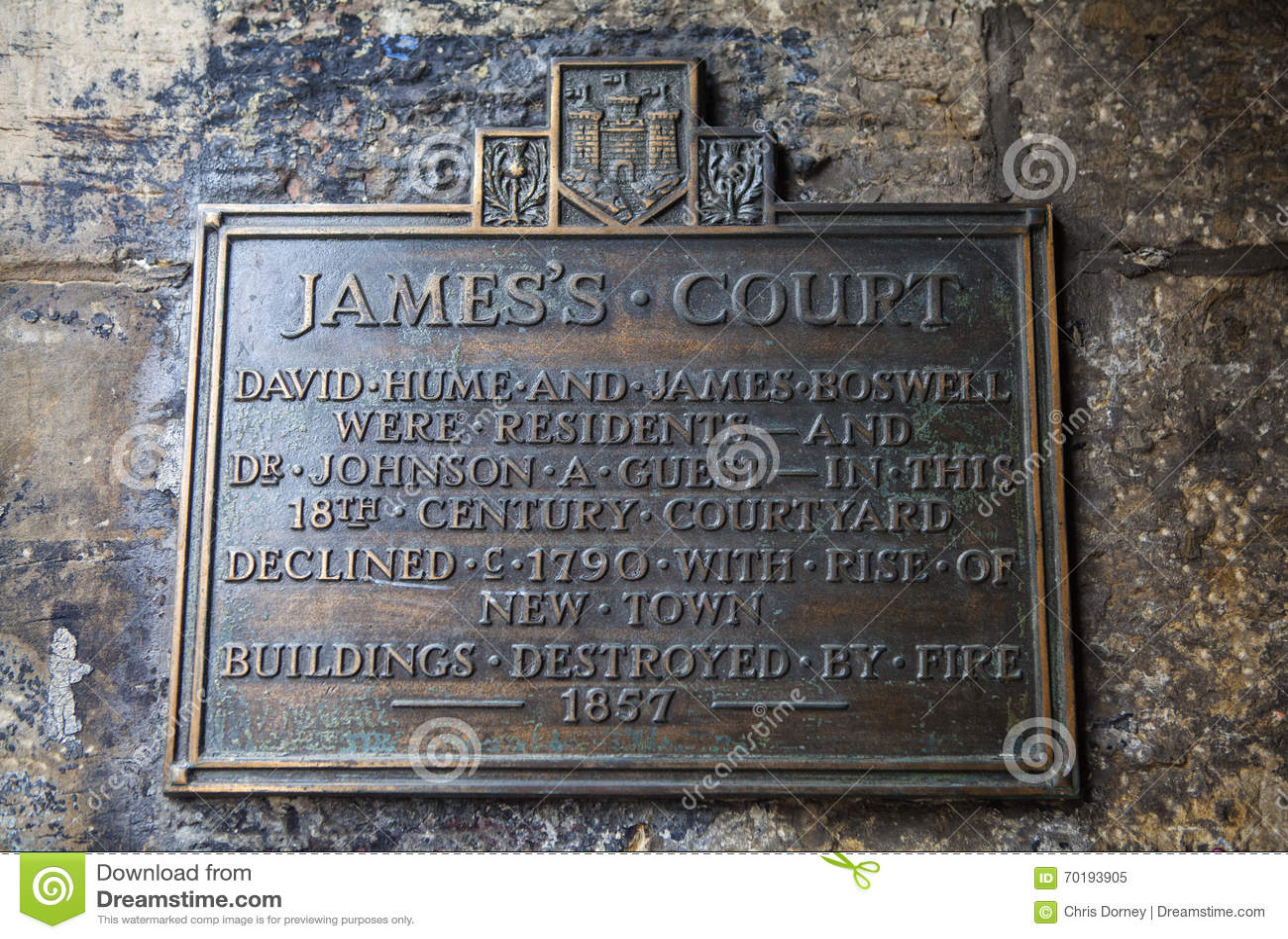 La corte de James en Edimburgo