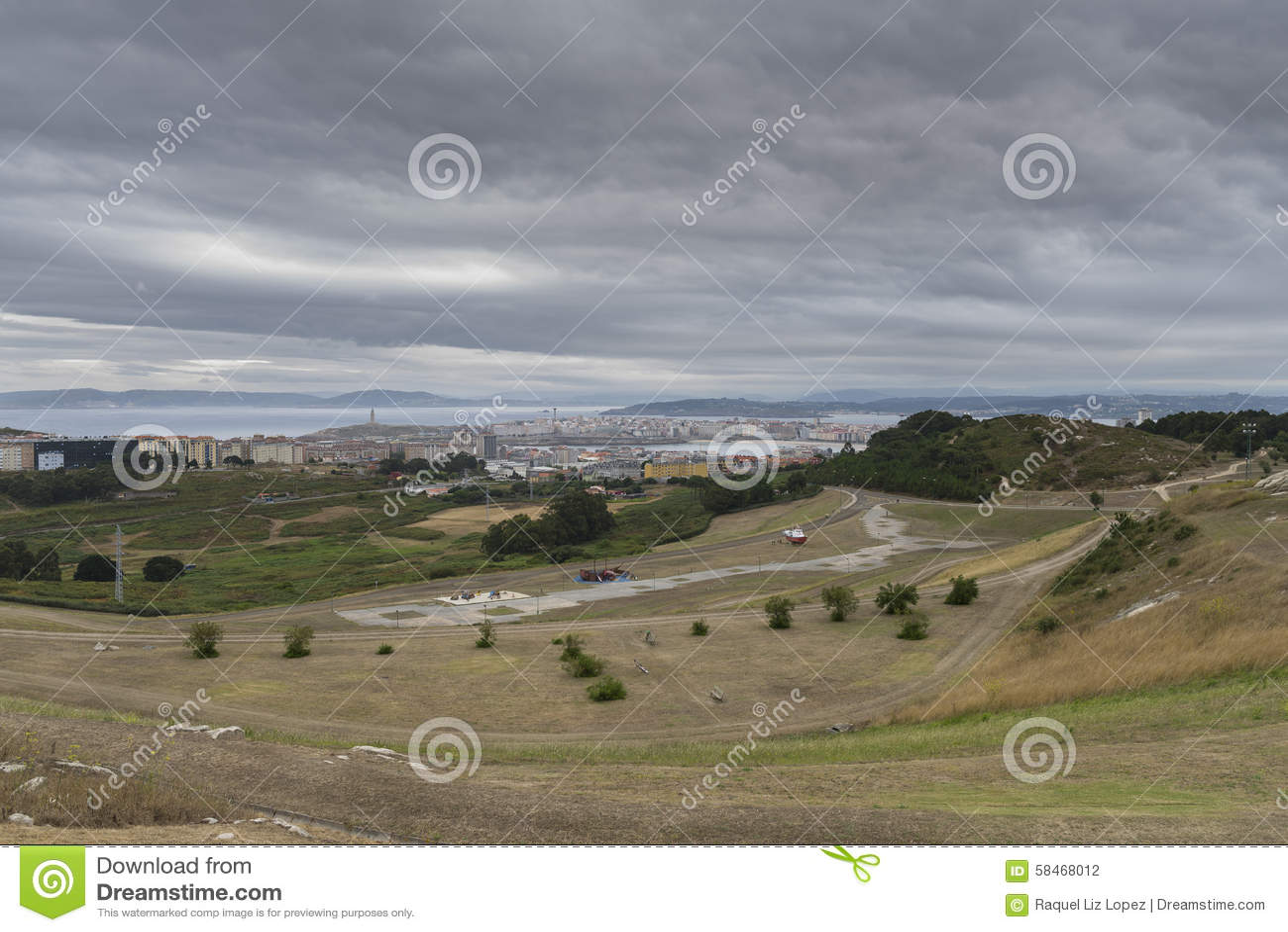 La Coruna, Spanien