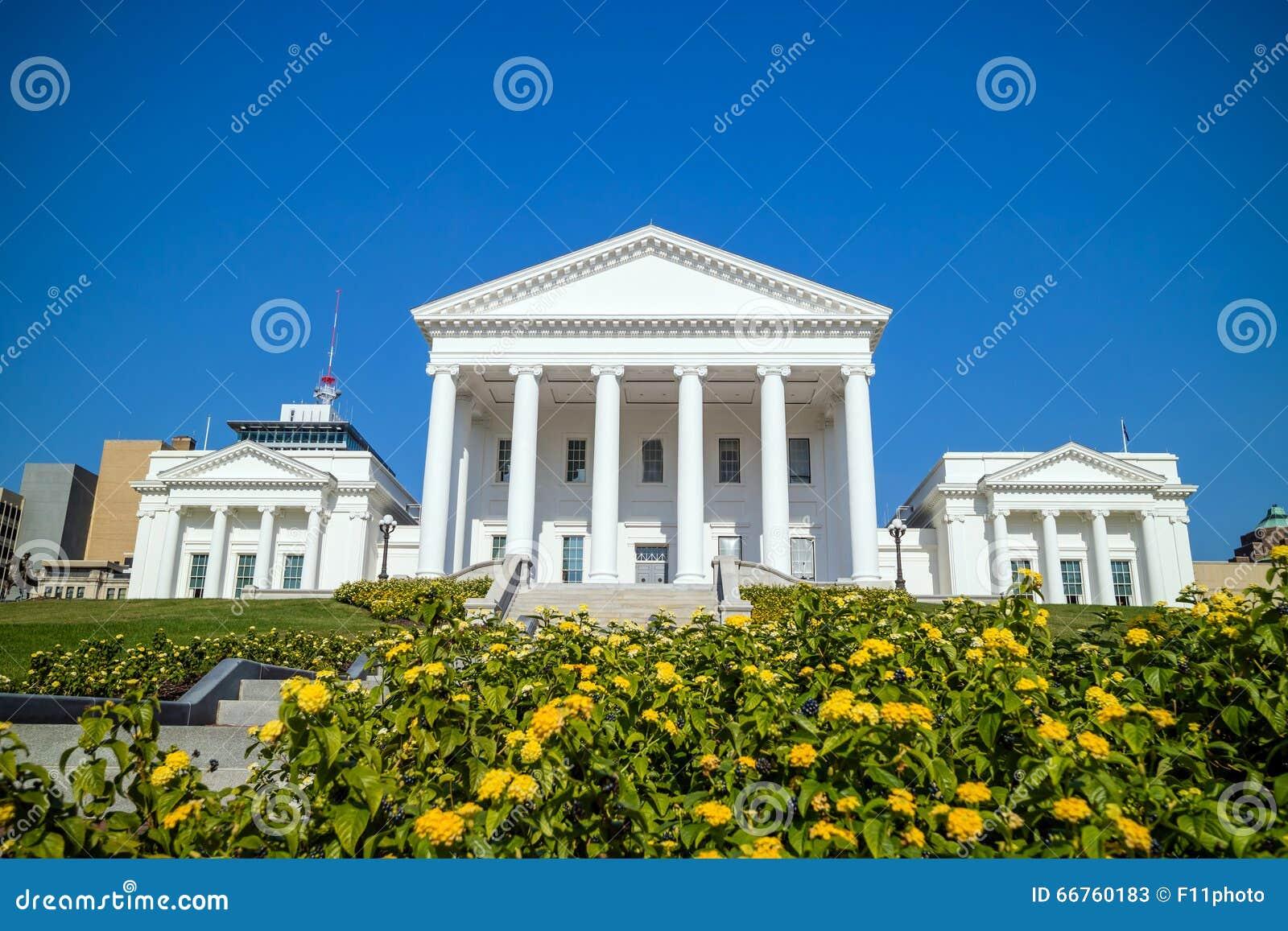 La costruzione del capitale dello Stato in Richmond Virginia