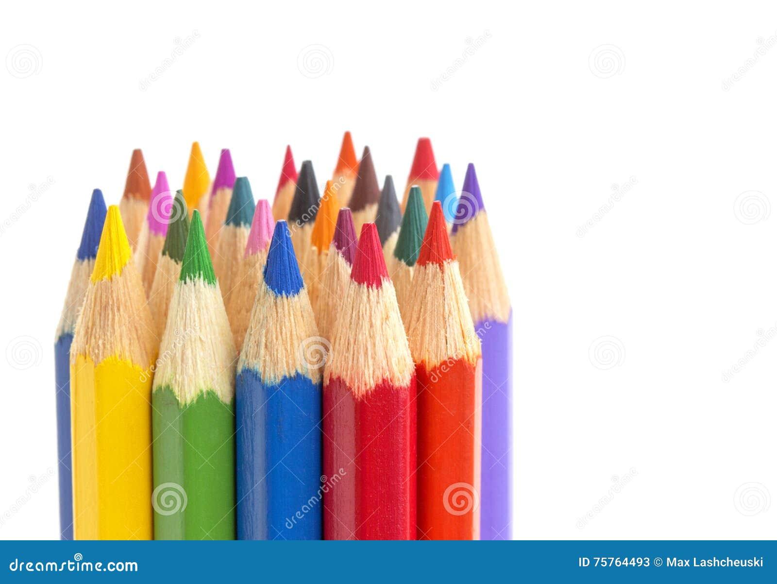 La couleur crayonne le plan rapproché