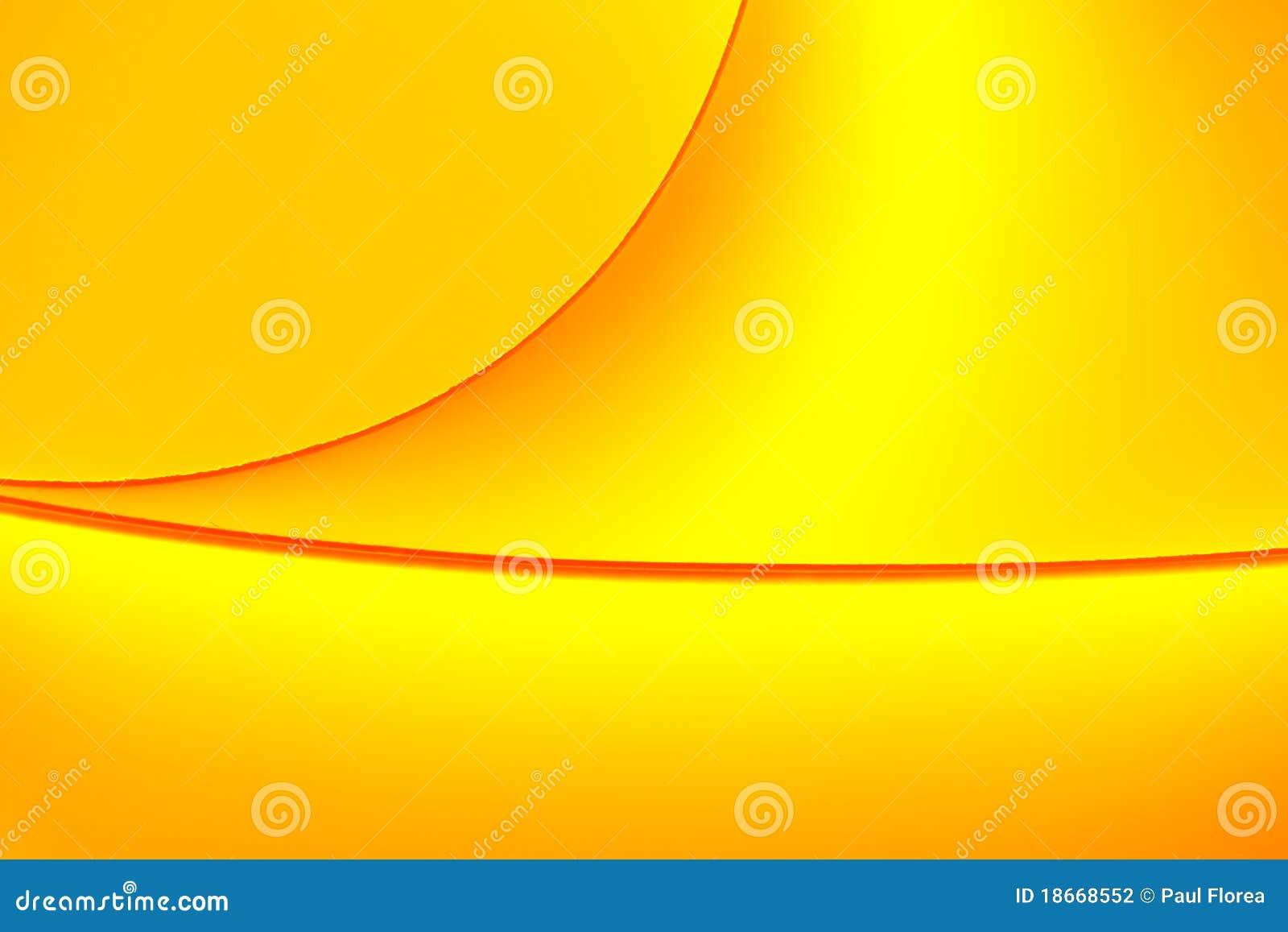 La Couleur Jaune-orange Modifie La Tonalité De Macro Formes De ...
