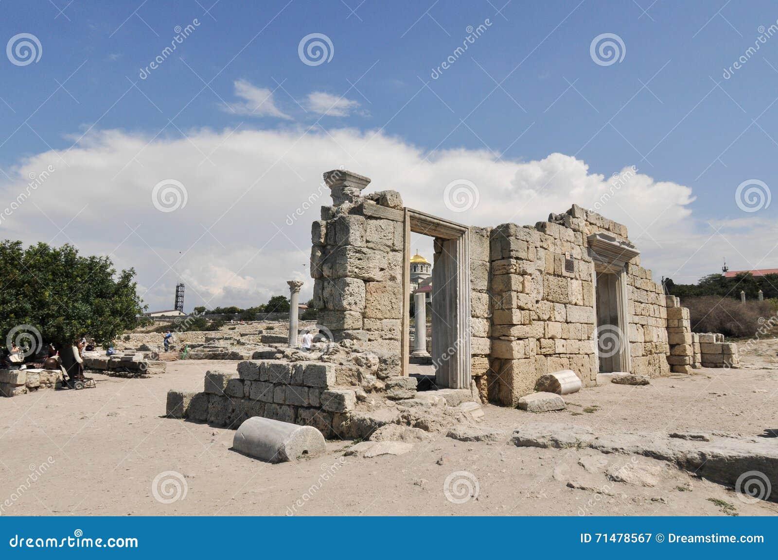La Crimée, Hersonissos, Sébastopol