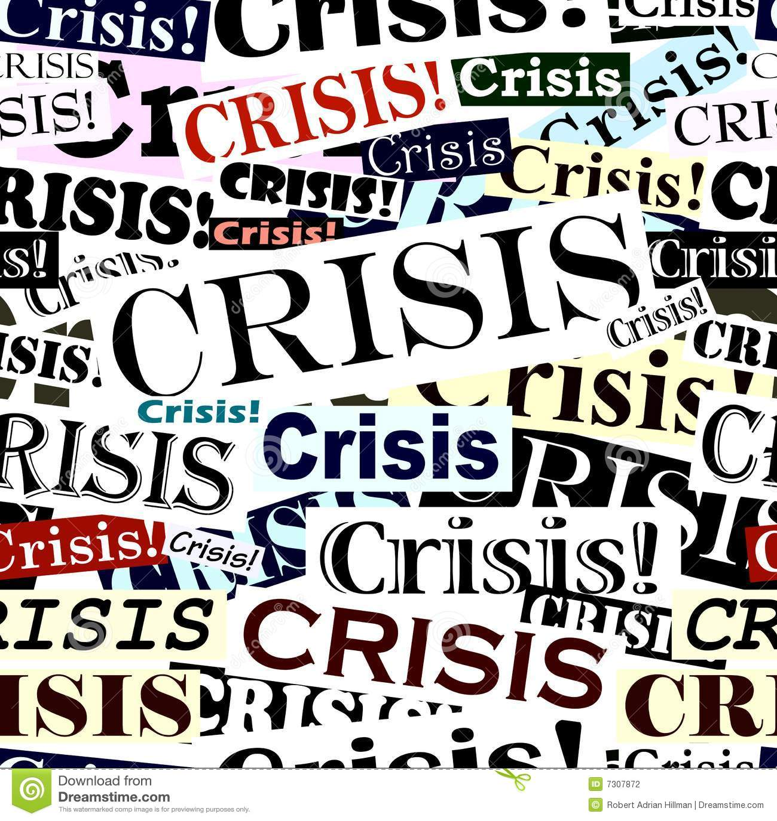 La crisi mette in evidenza le mattonelle