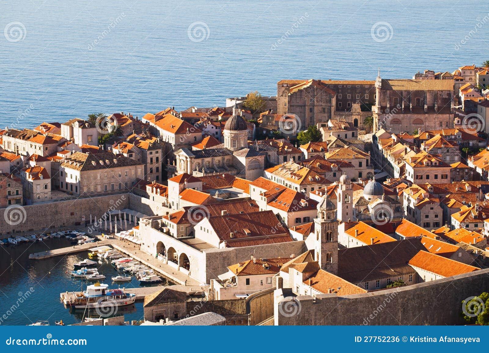 La Croatie, côte de Dalmation, Dubrovnik