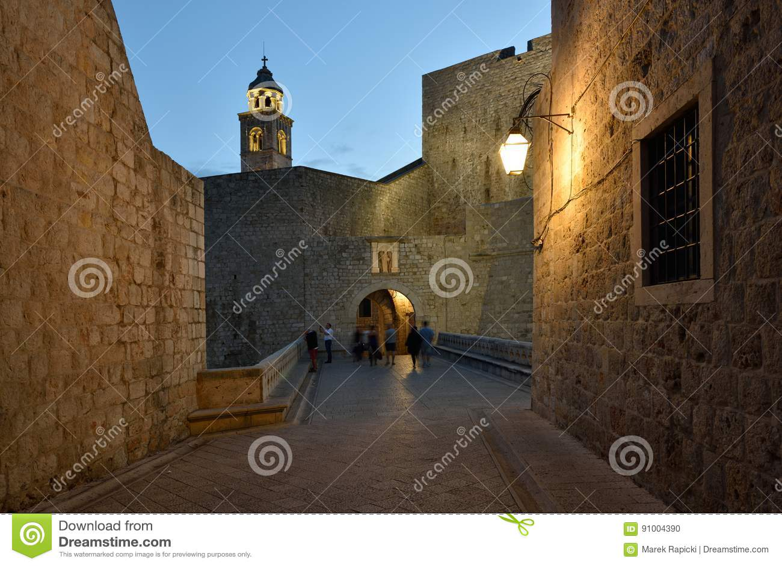 La Croatie, Dubrovnik, environs de porte de Ploce