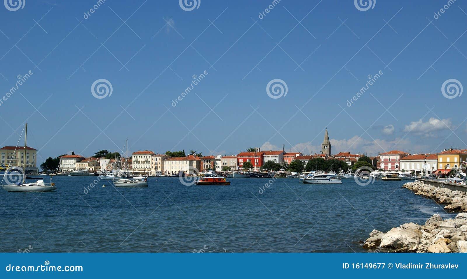 La Croatie, Porec
