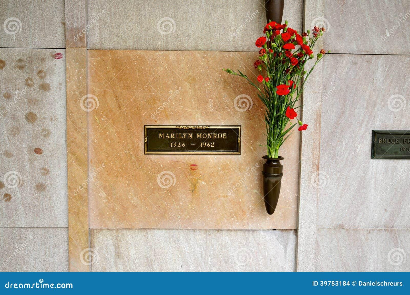 La crypte de Marilyn Monroe à Los Angeles