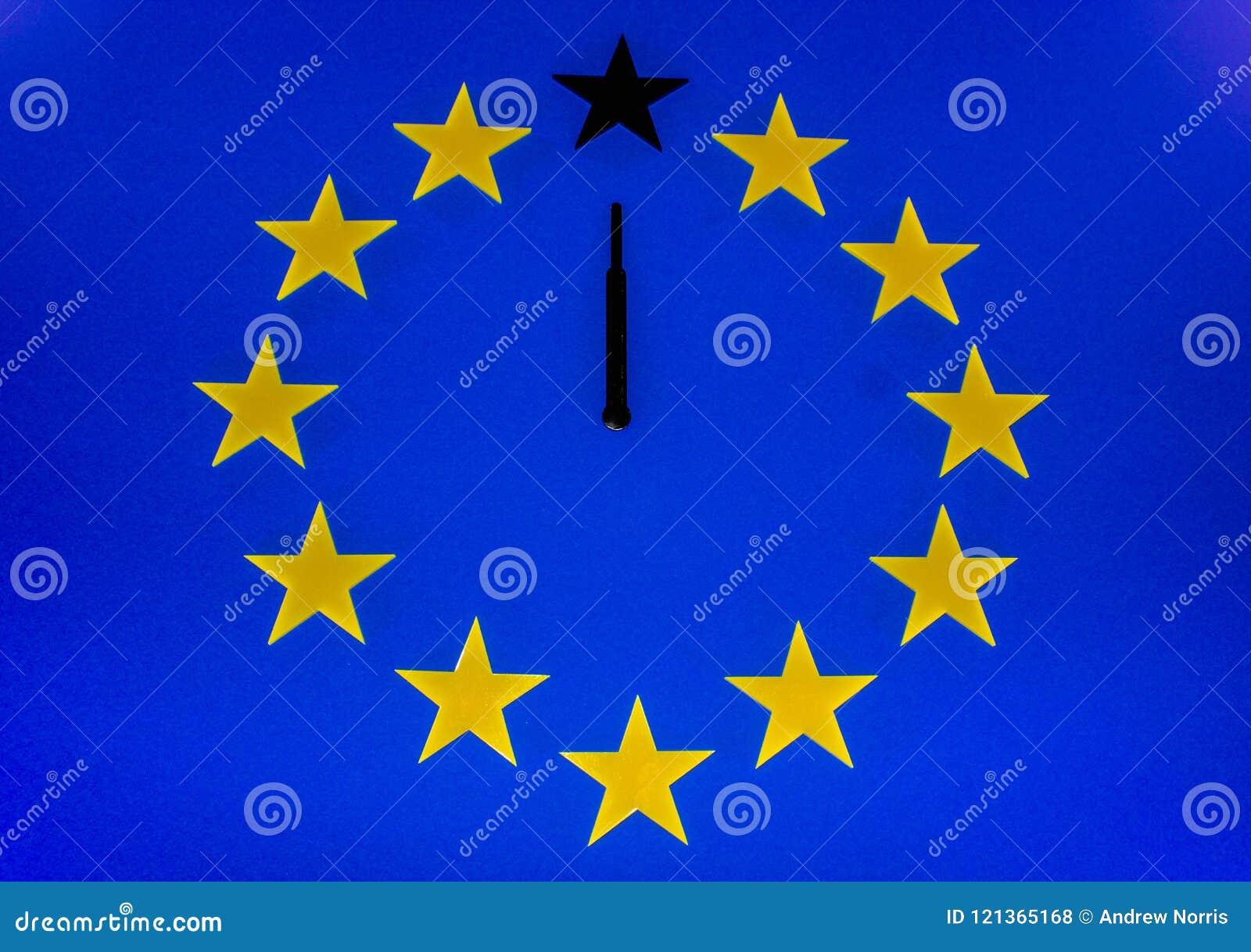 La cuenta descendiente de Brexit