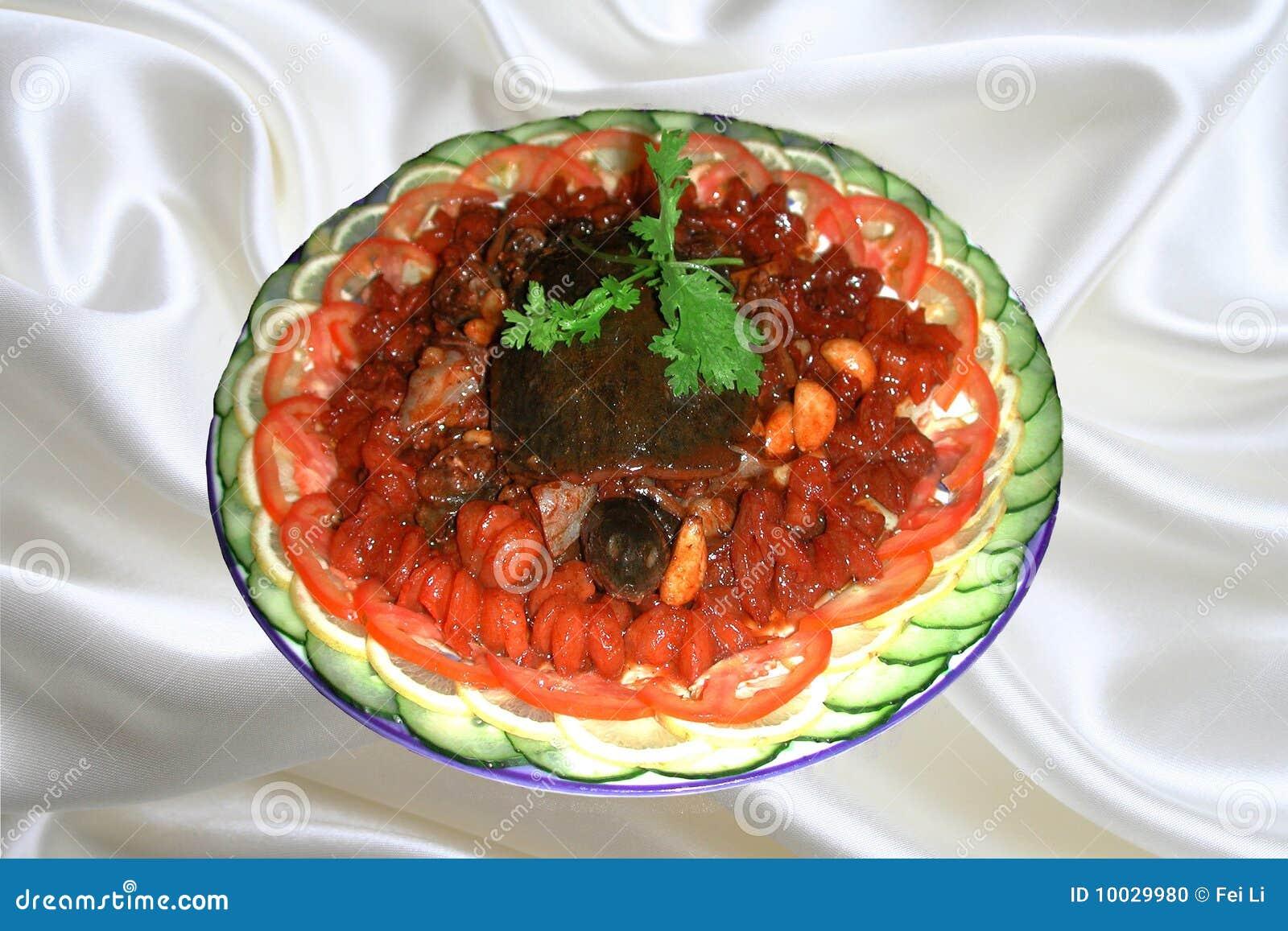 La Cuisine Chinoise, Ail A Fait Frire La Tortue Soft-shelled Photo ...