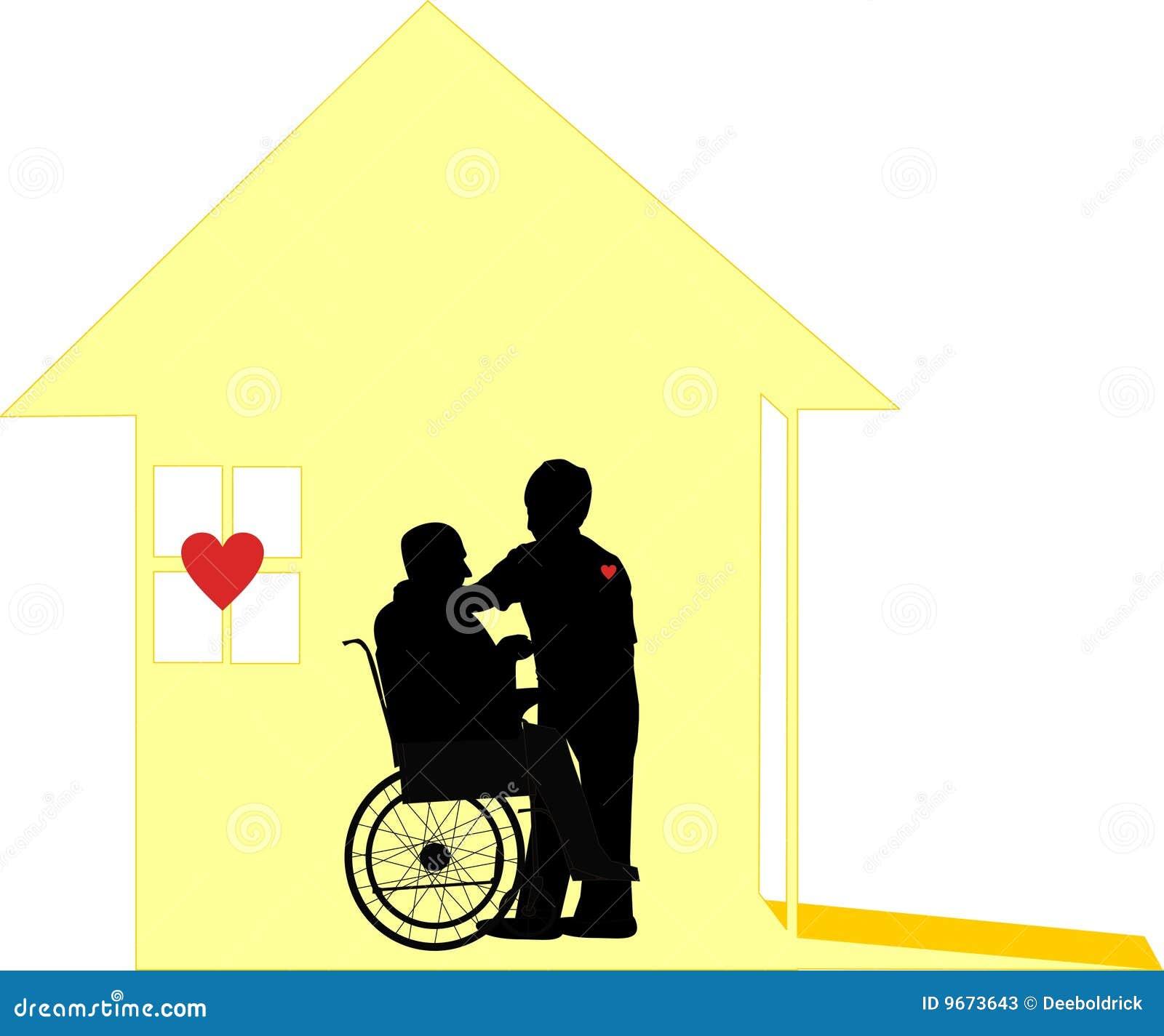 La cura amorosa di cura domestica e Pallative si preoccupano