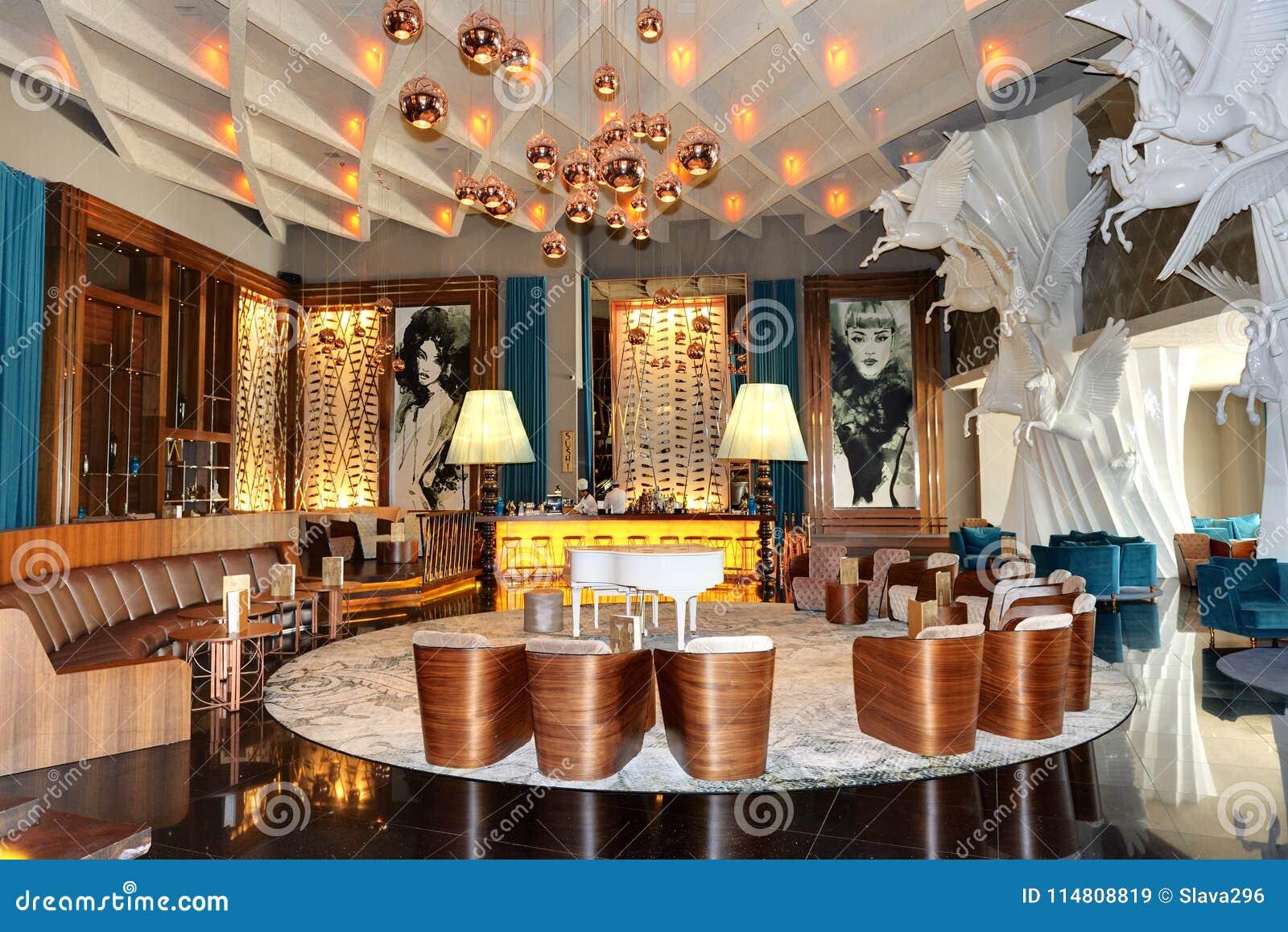 La Décoration De Secteur De Salon De L\'hôtel De Luxe De Maxx ...