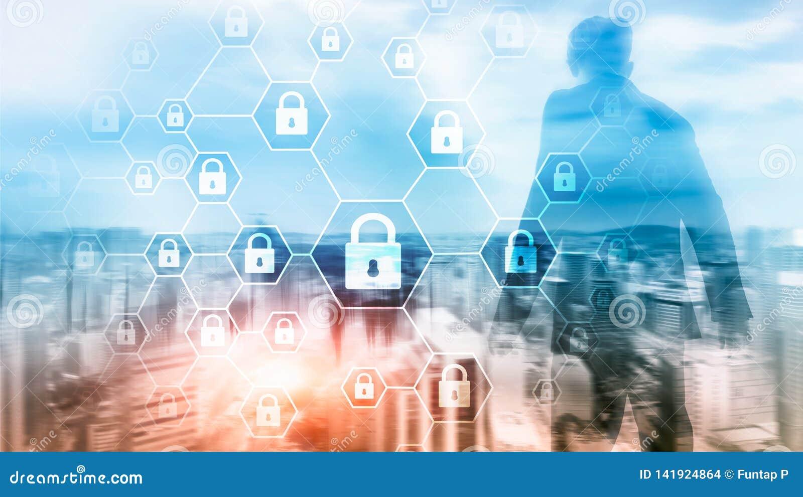 La défense d intimité de Cybersecurity, d information, de protection des données, de virus et de spyware