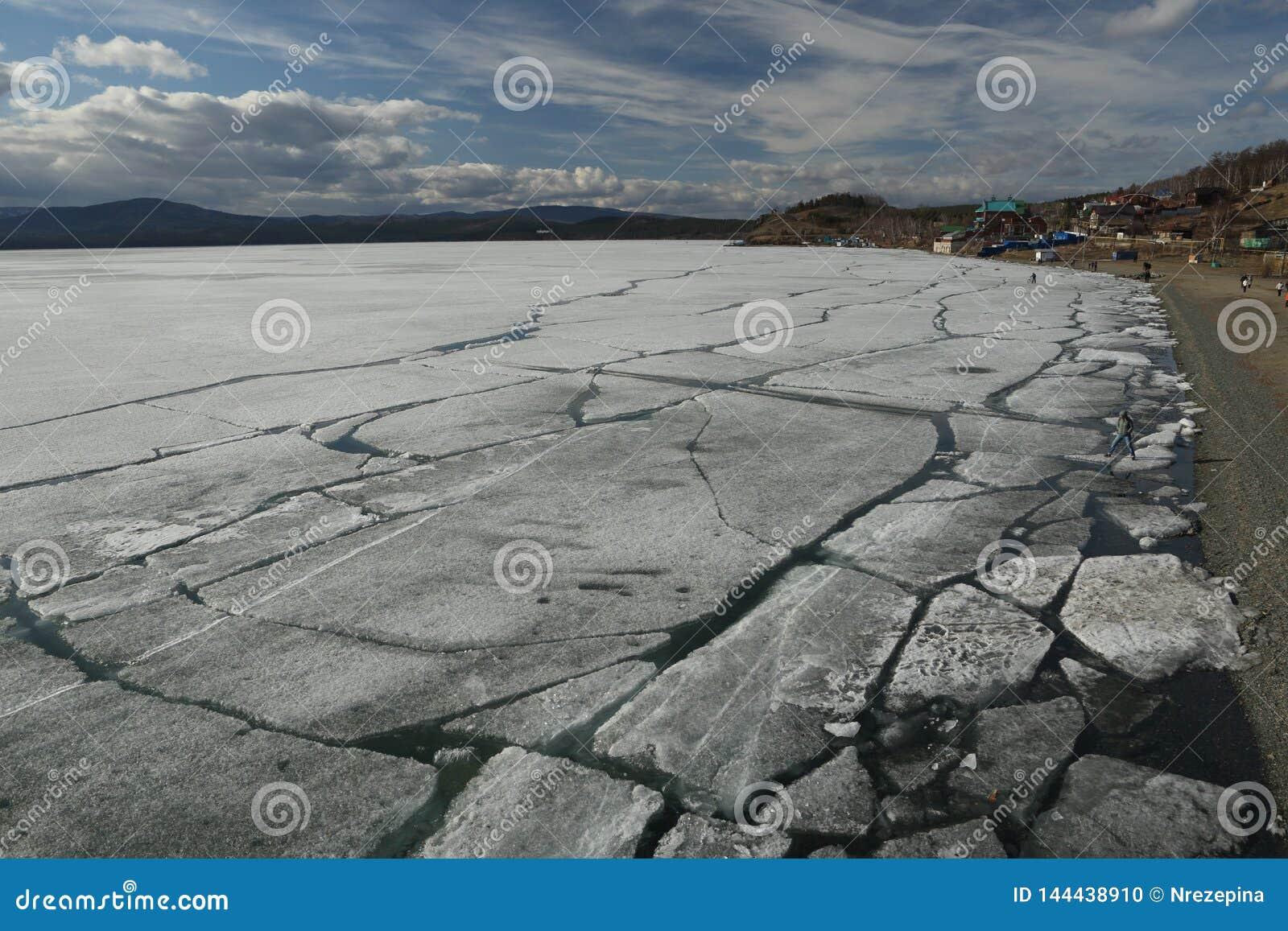 La dérive de glace