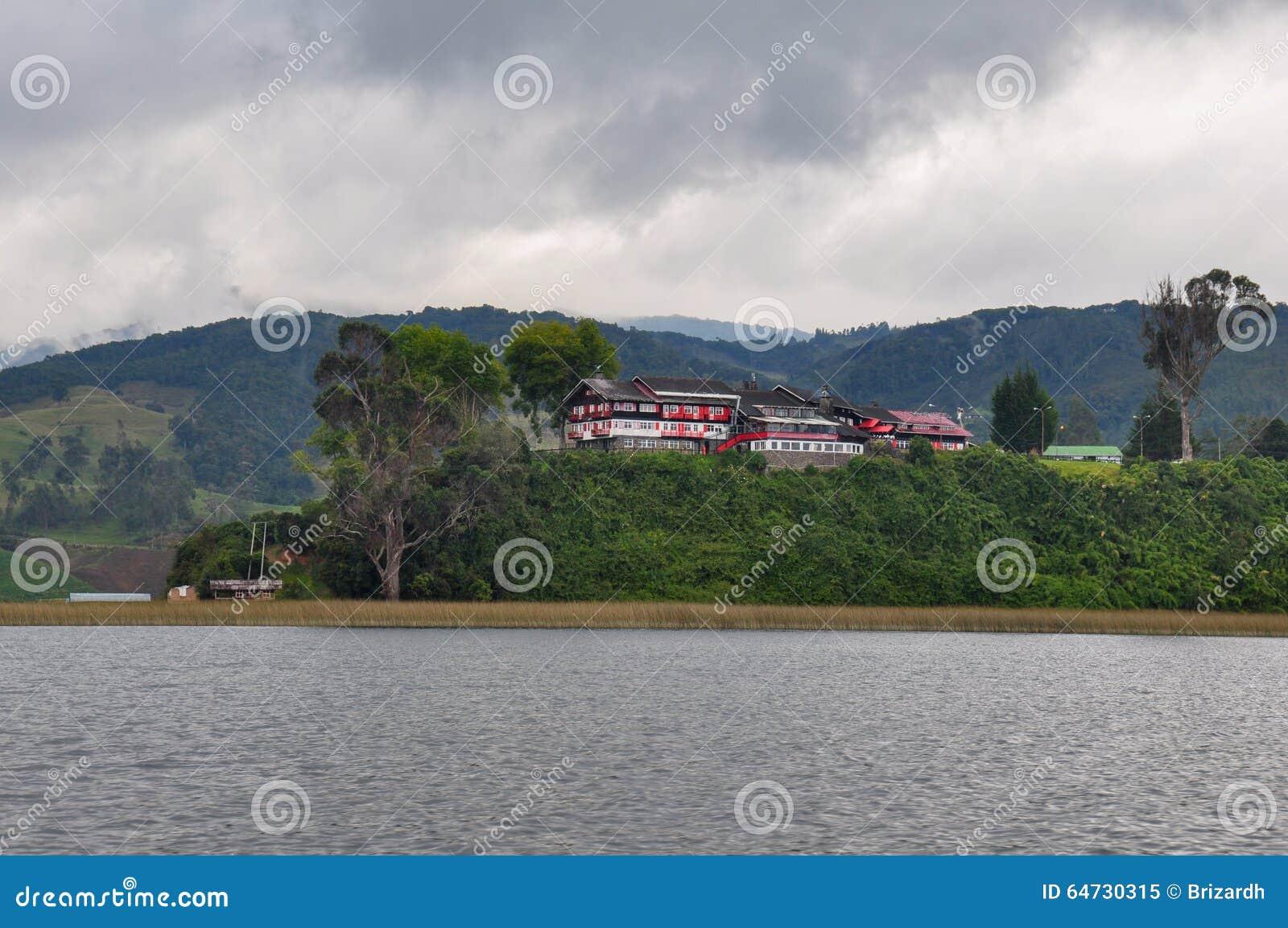 La delicata & variopinta Cocha, Colombia di laguna