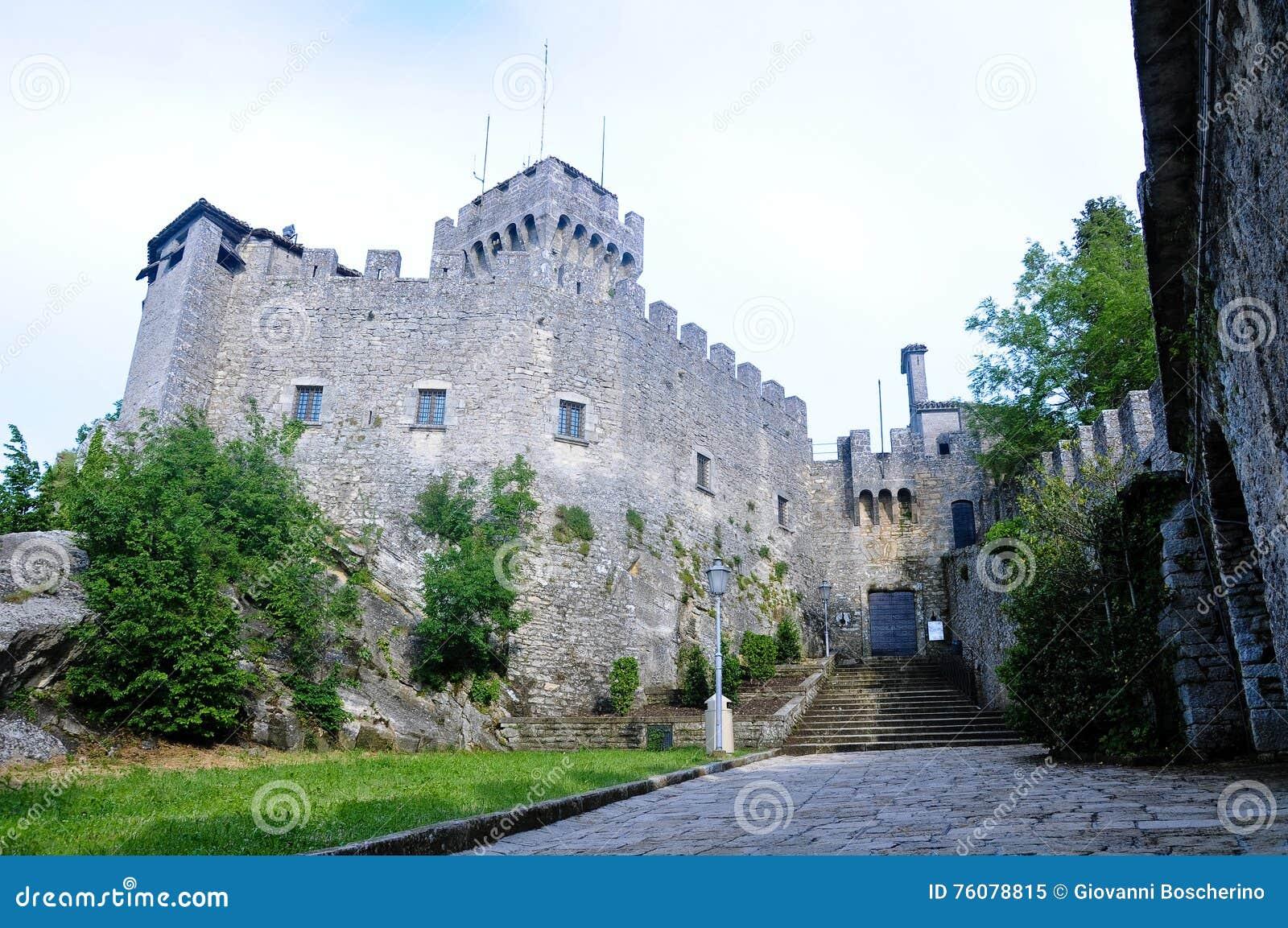La deuxième tour dans le San Marino Republic