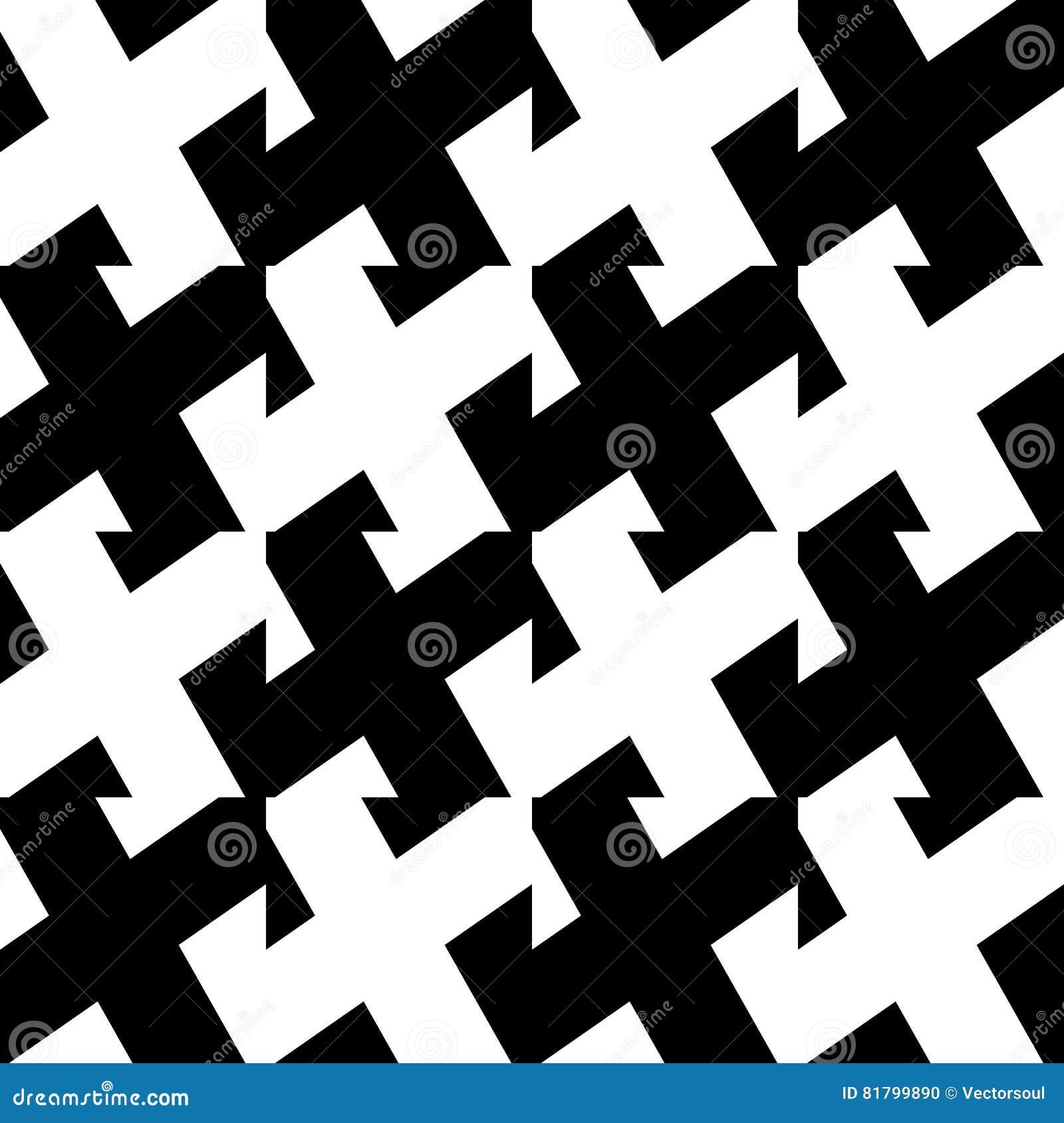 La diagonale allinea il modello ripetibile - Li parallelo diritto obliquo