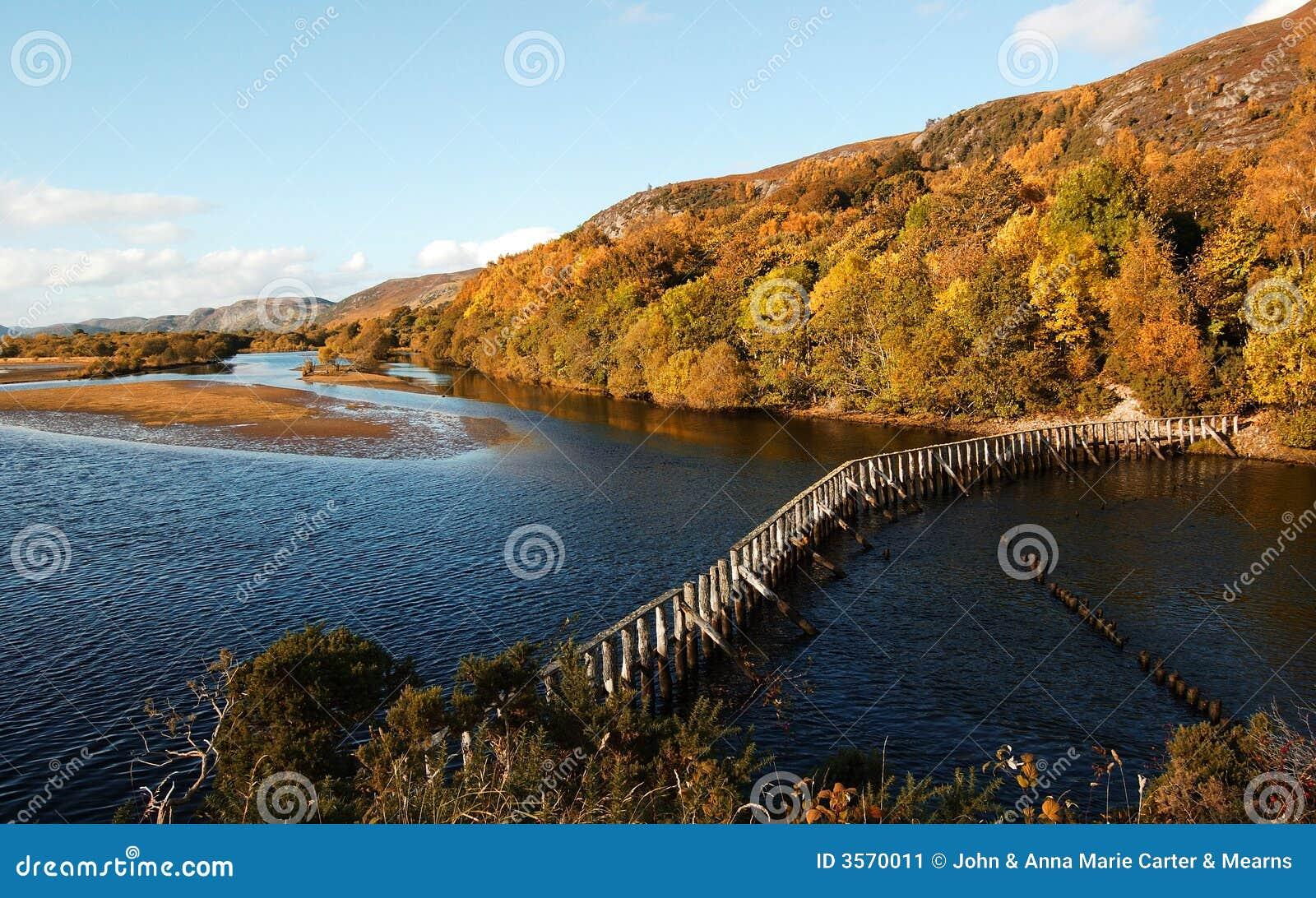 La diga al parco del Loch