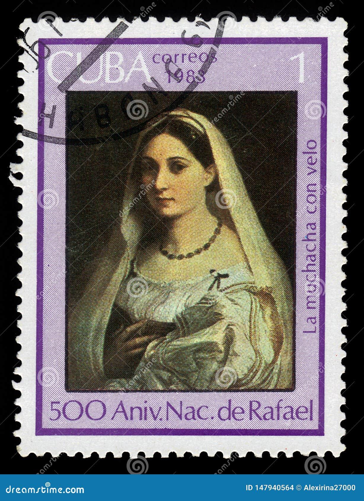 La donna velata by Rafael