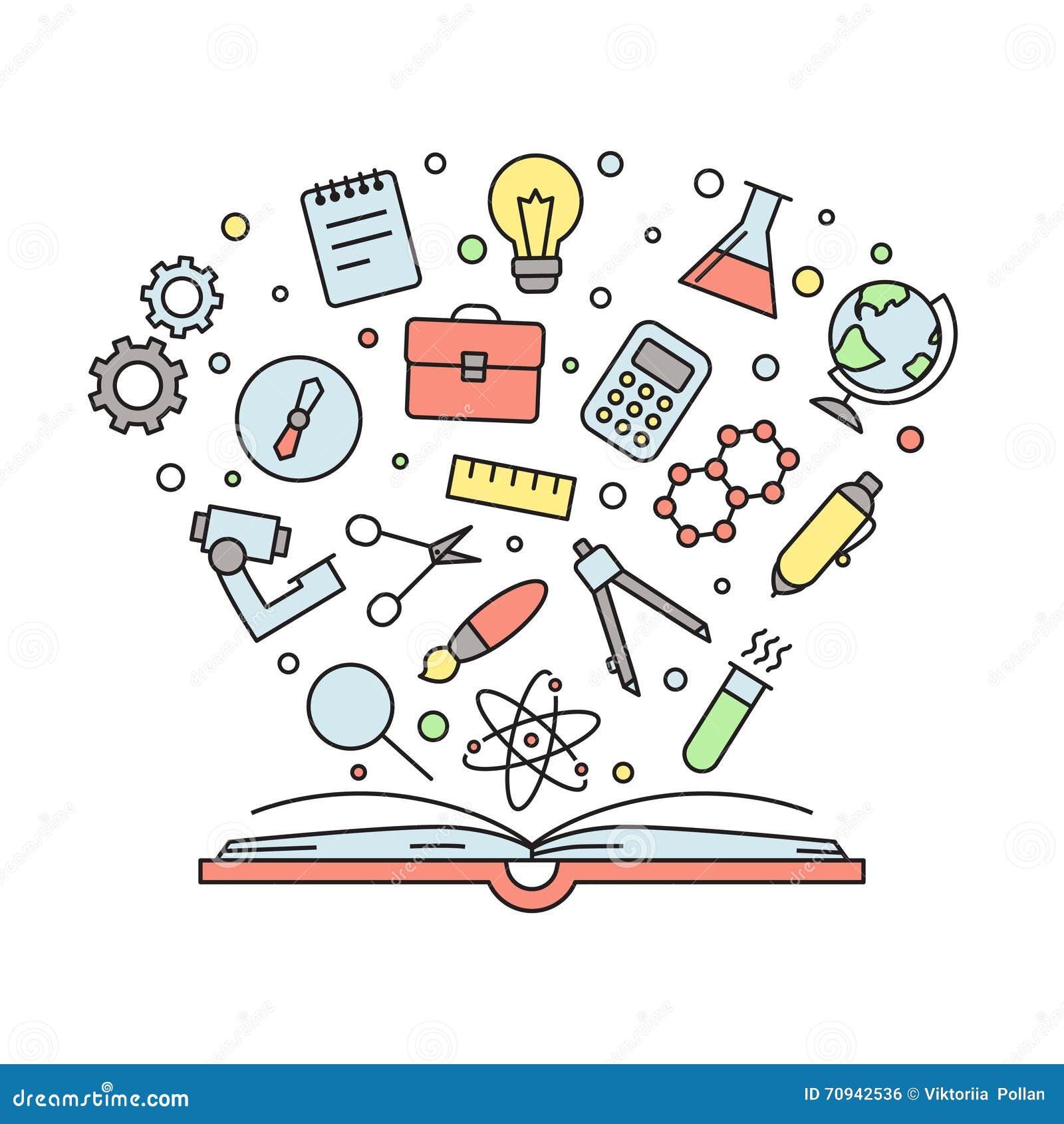 La educaci n y la ciencia resumen el ejemplo multicolor for Resumen del libro quimica en la cocina