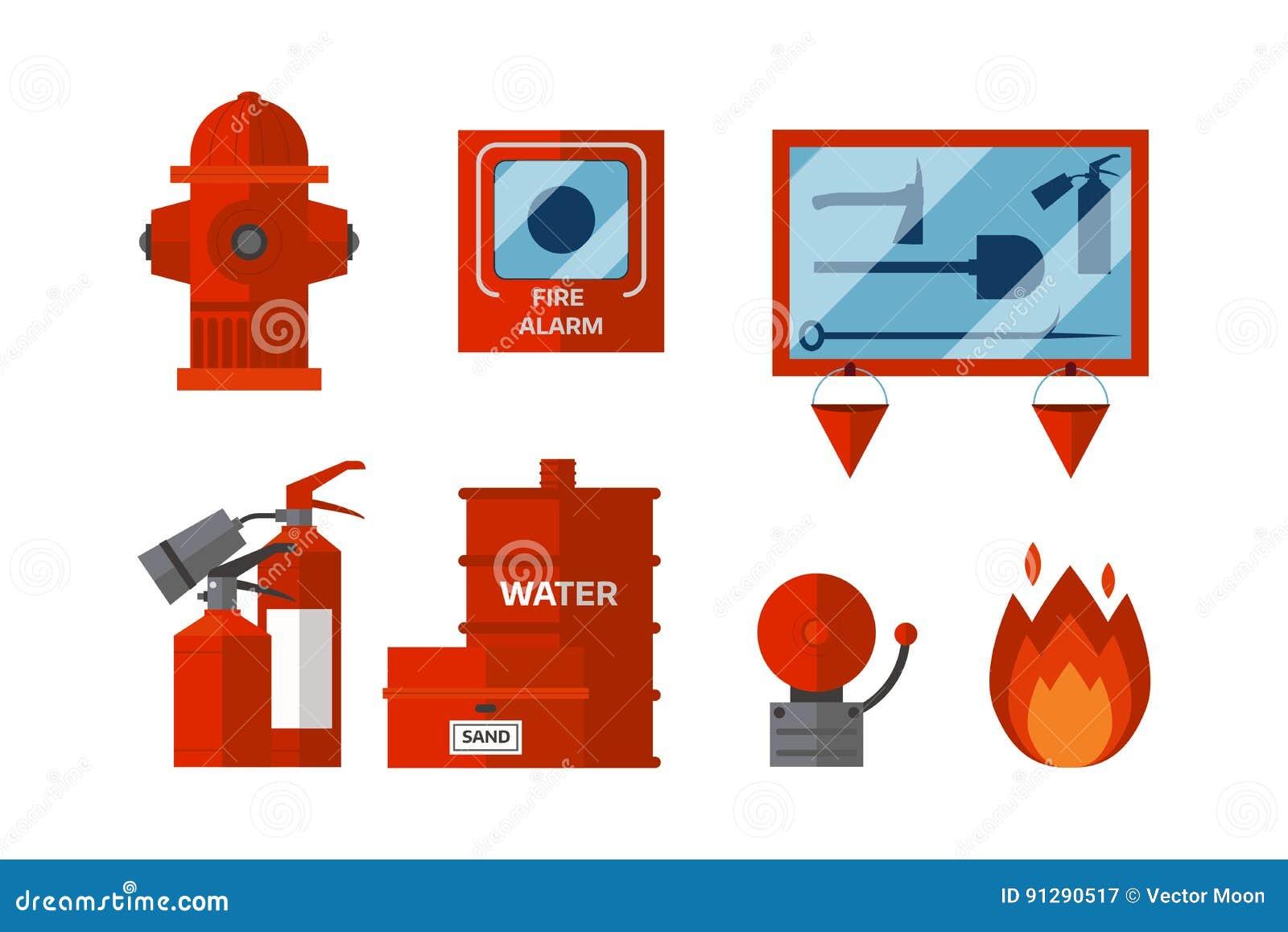 La emergencia del equipo de seguridad contra incendios for Pinturas proteccion contra incendios