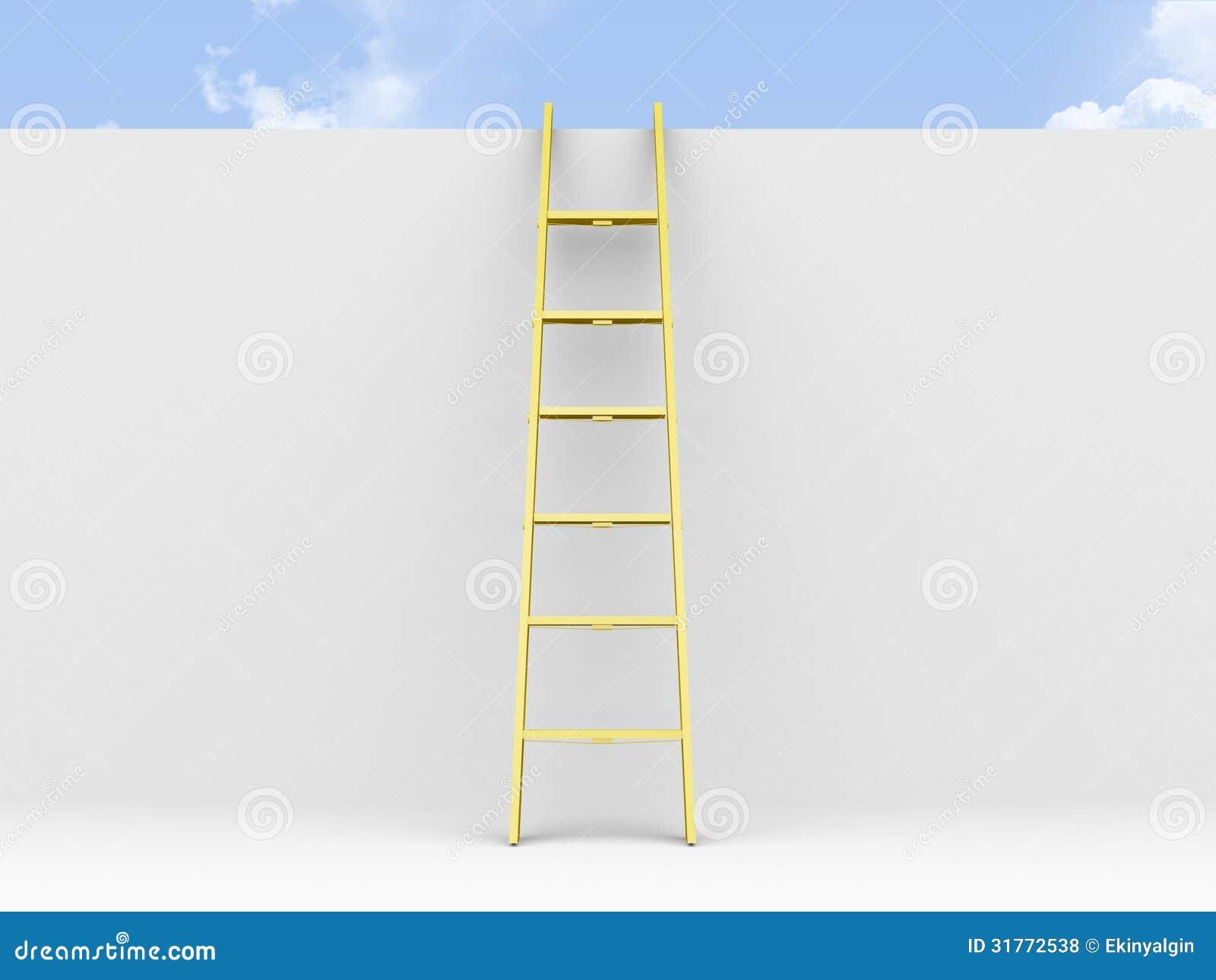La escalera inclin la pared fotos de archivo libres de - Fotos en la pared ...