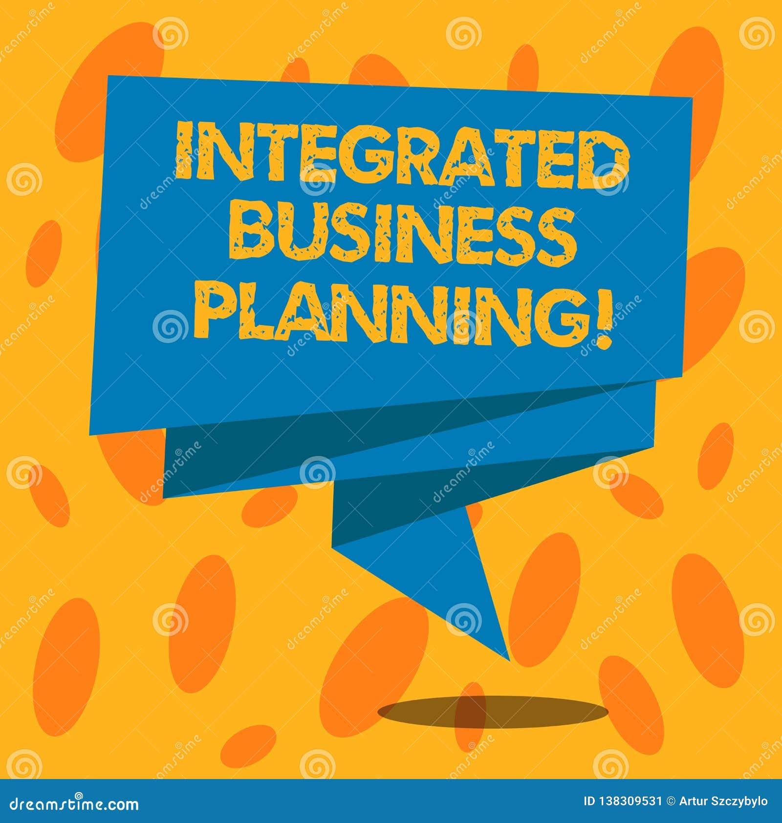 La escritura de la demostración de la nota integró la planificación de empresas Riesgo de la foto del negocio y beneficio de redu